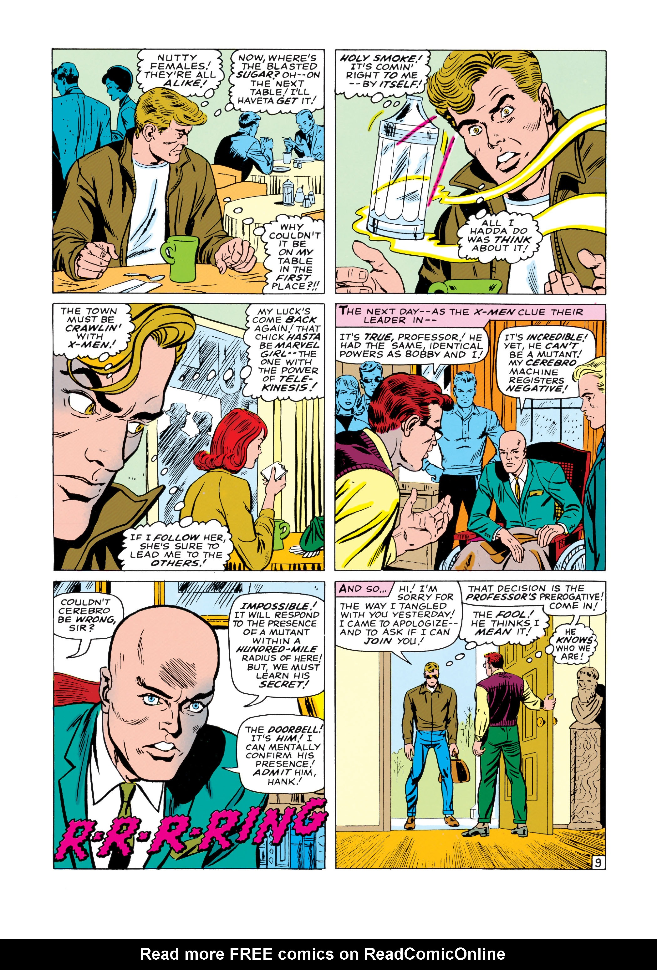 Read online Uncanny X-Men (1963) comic -  Issue #19 - 10