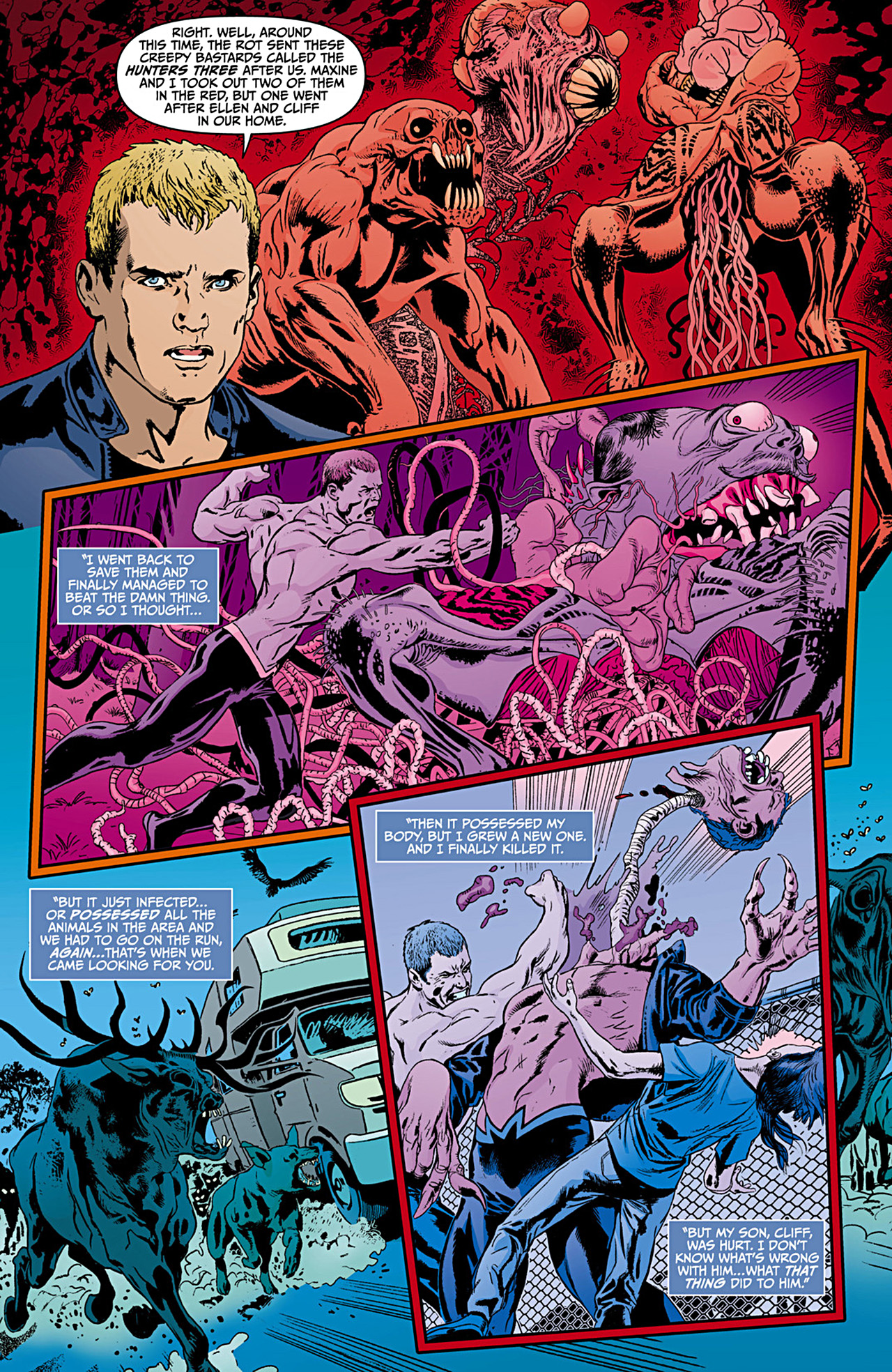 Read online Animal Man (2011) comic -  Issue #12 - 11