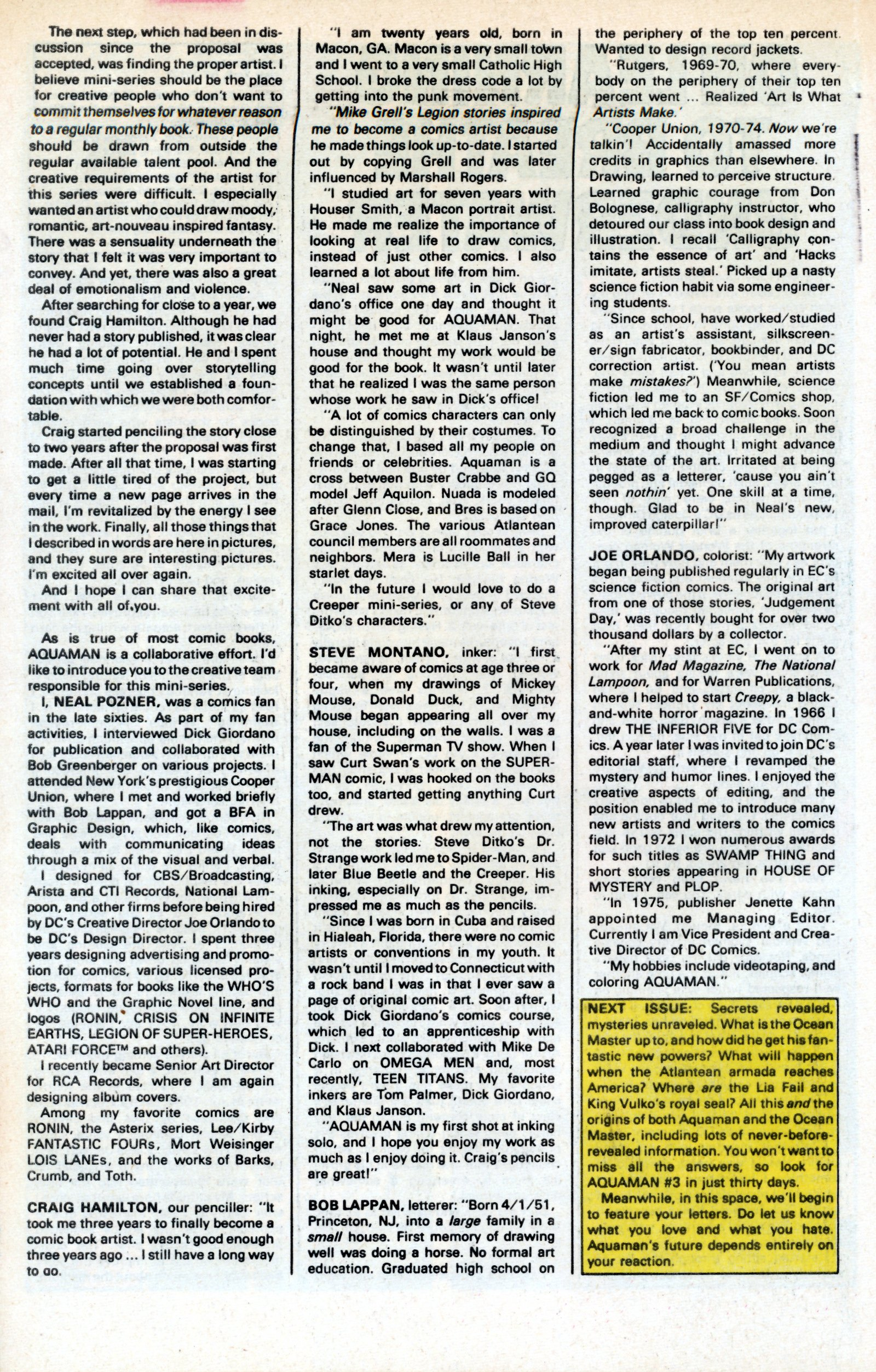 Read online Aquaman (1986) comic -  Issue #2 - 34