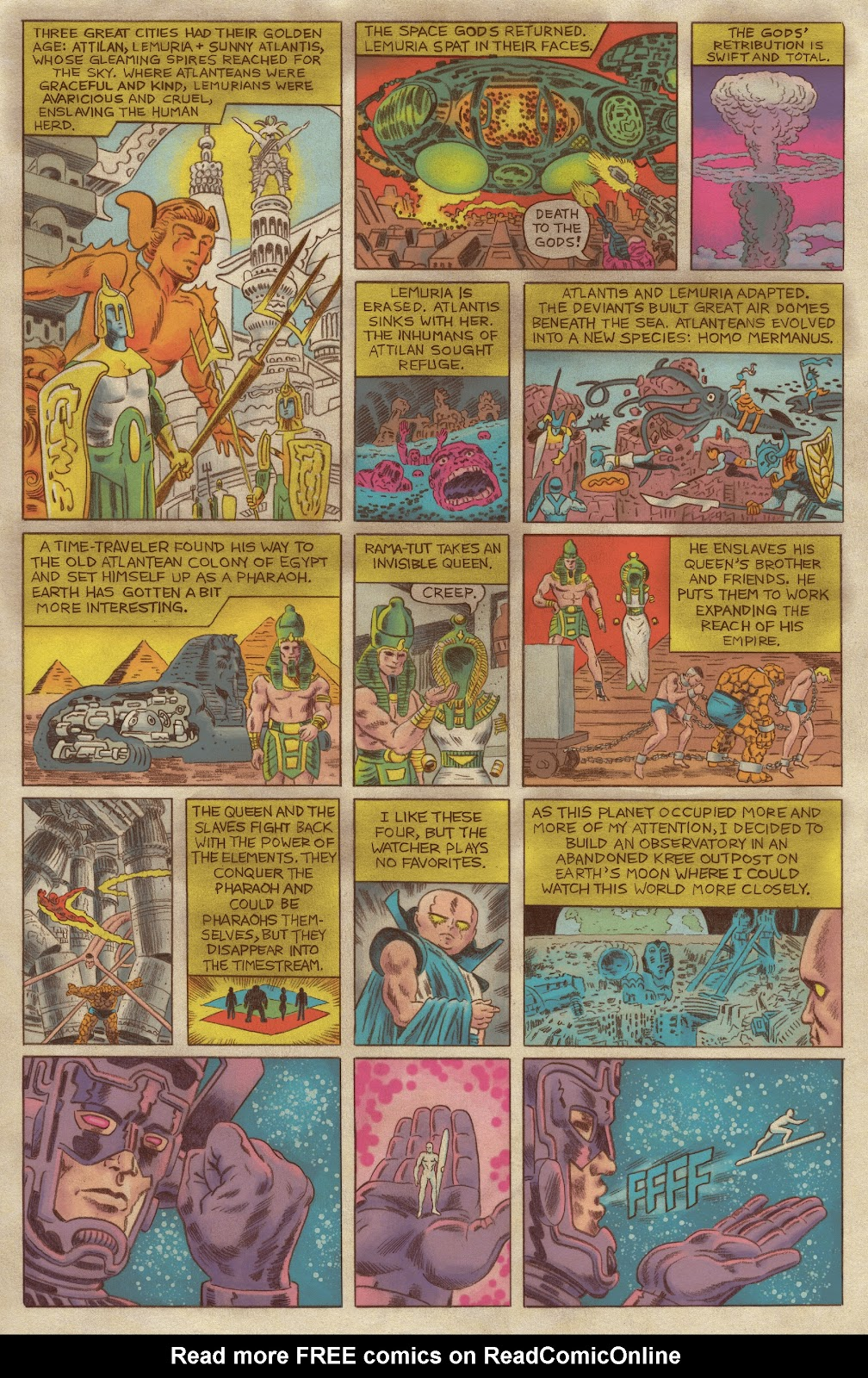 Read online Fantastic Four: Grand Design comic -  Issue #1 - 6