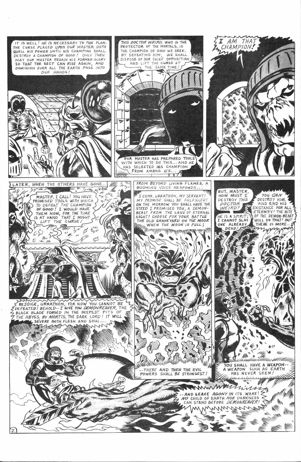 Read online Dr. Weird Special comic -  Issue # Full - 34