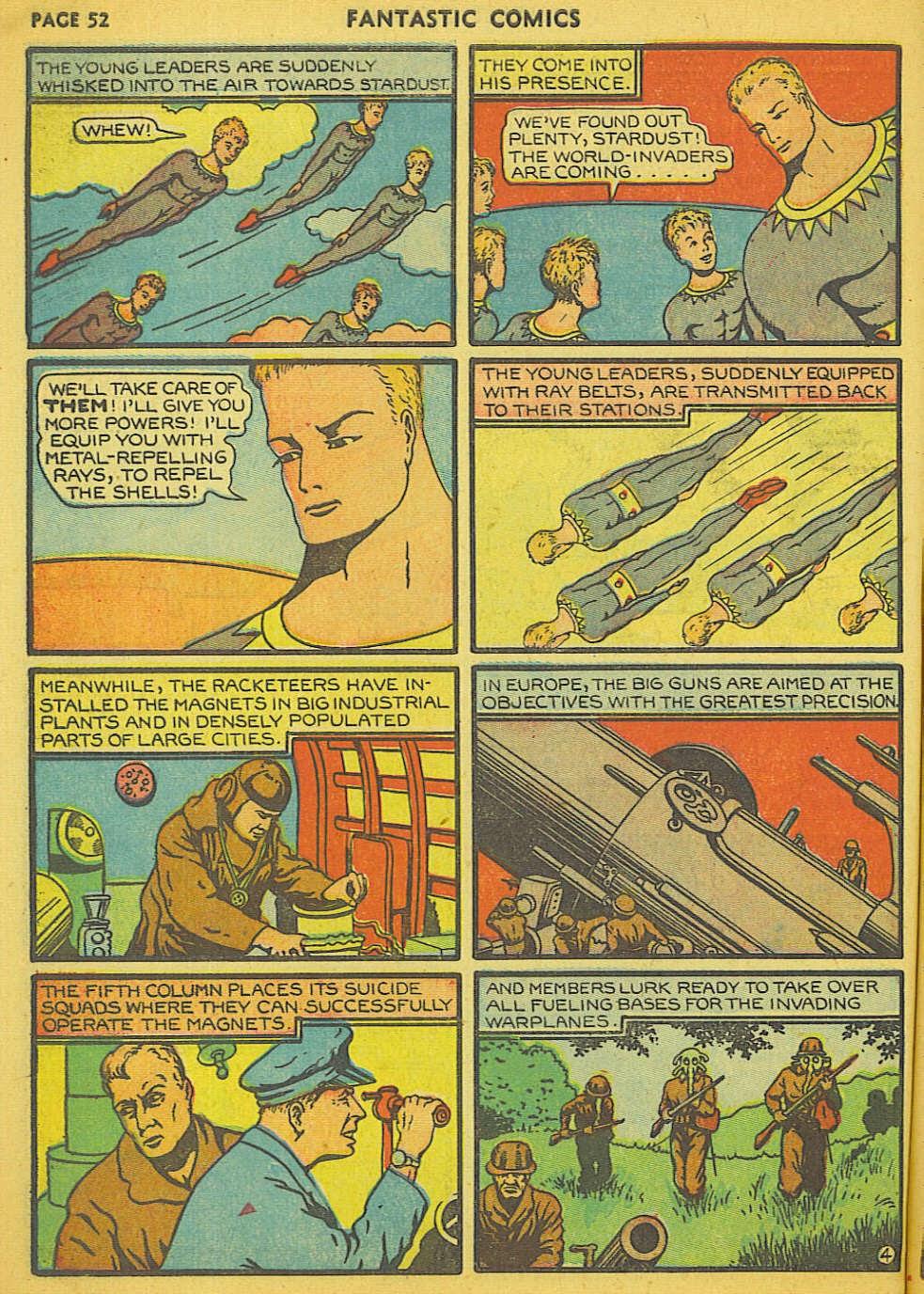 Read online Fantastic Comics comic -  Issue #15 - 47