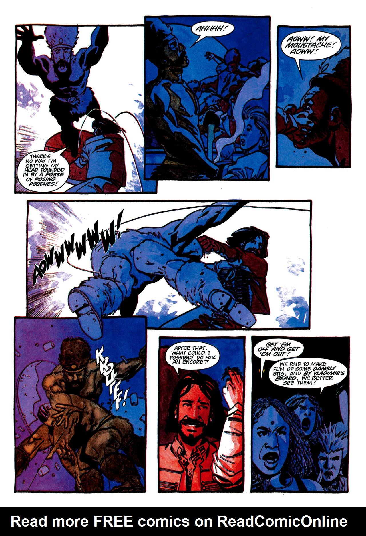 Read online Nikolai Dante comic -  Issue # TPB 1 - 128