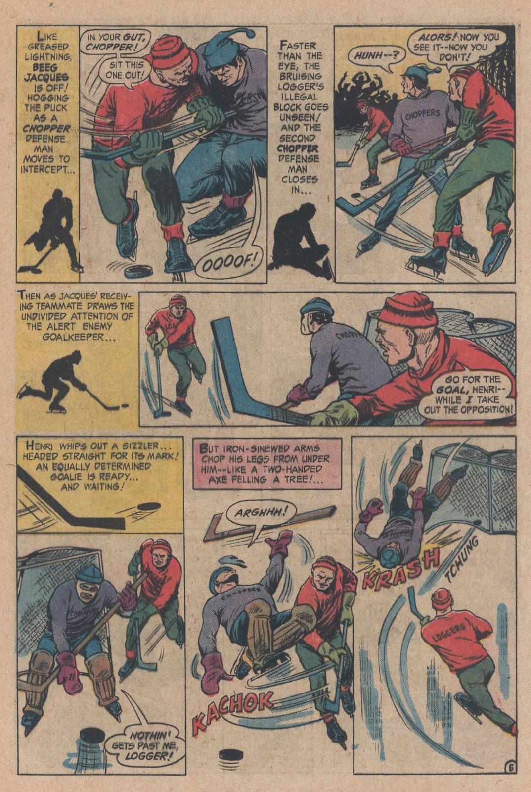 Read online Strange Sports Stories (1973) comic -  Issue #5 - 9