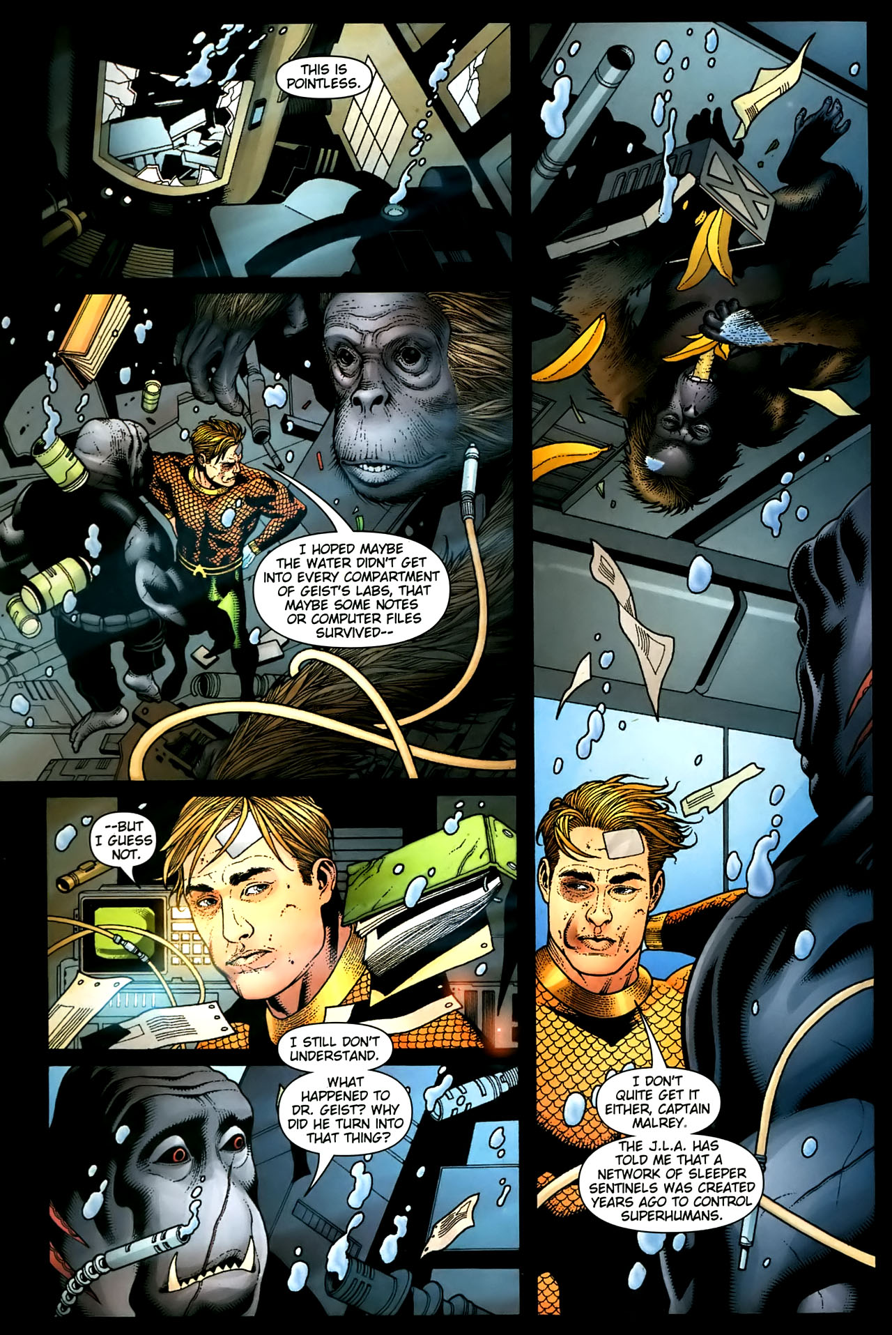 Read online Aquaman (2003) comic -  Issue #36 - 17