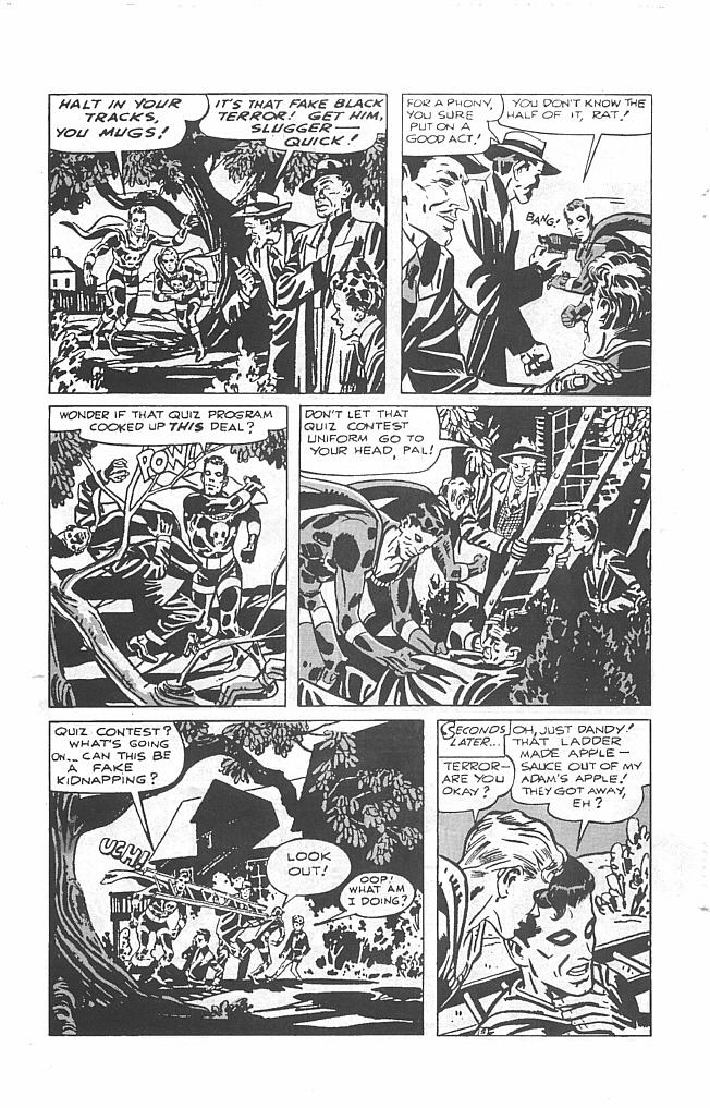 Read online Golden-Age Men of Mystery comic -  Issue #6 - 7