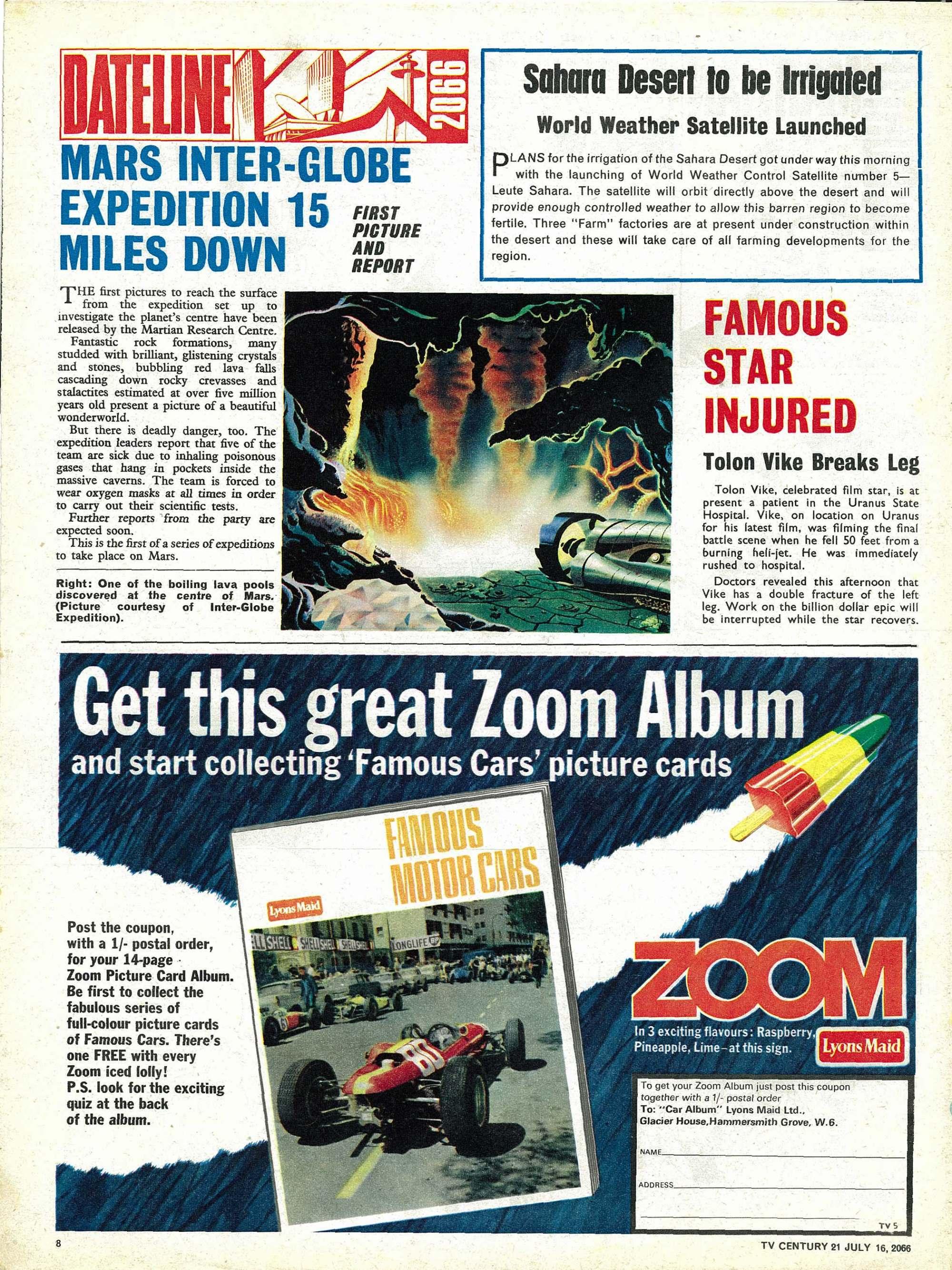 Read online TV Century 21 (TV 21) comic -  Issue #78 - 8
