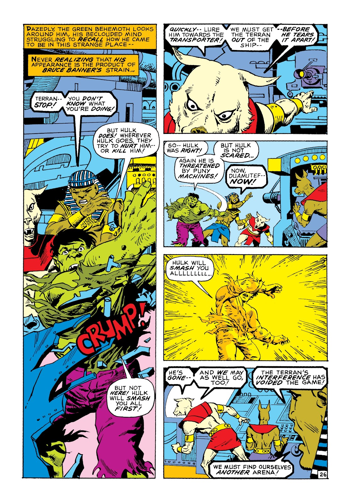 Read online Marvel Masterworks: The Incredible Hulk comic -  Issue # TPB 8 (Part 1) - 33