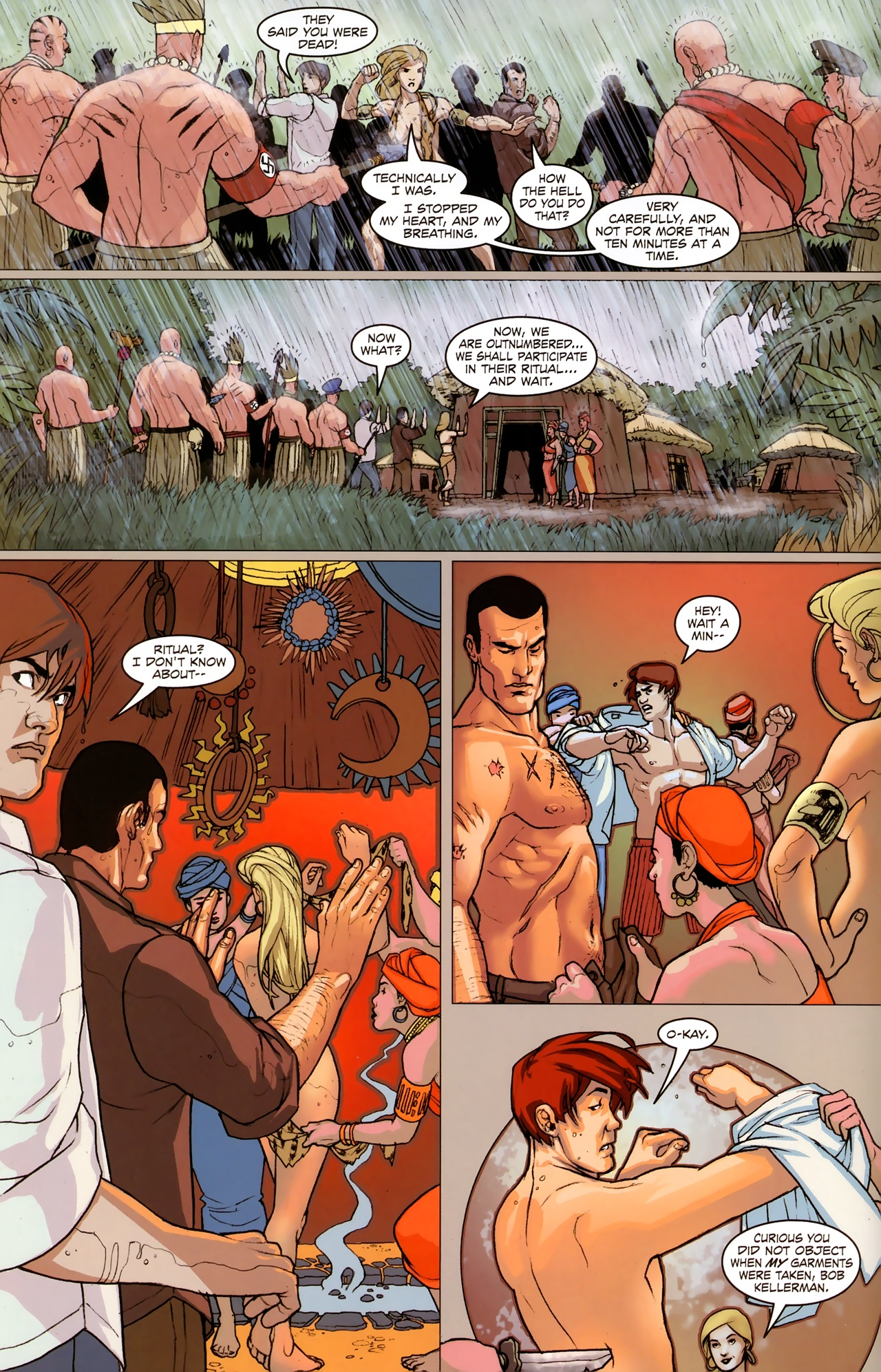 Read online Sheena Queen of the Jungle: Dark Rising comic -  Issue #2 - 14