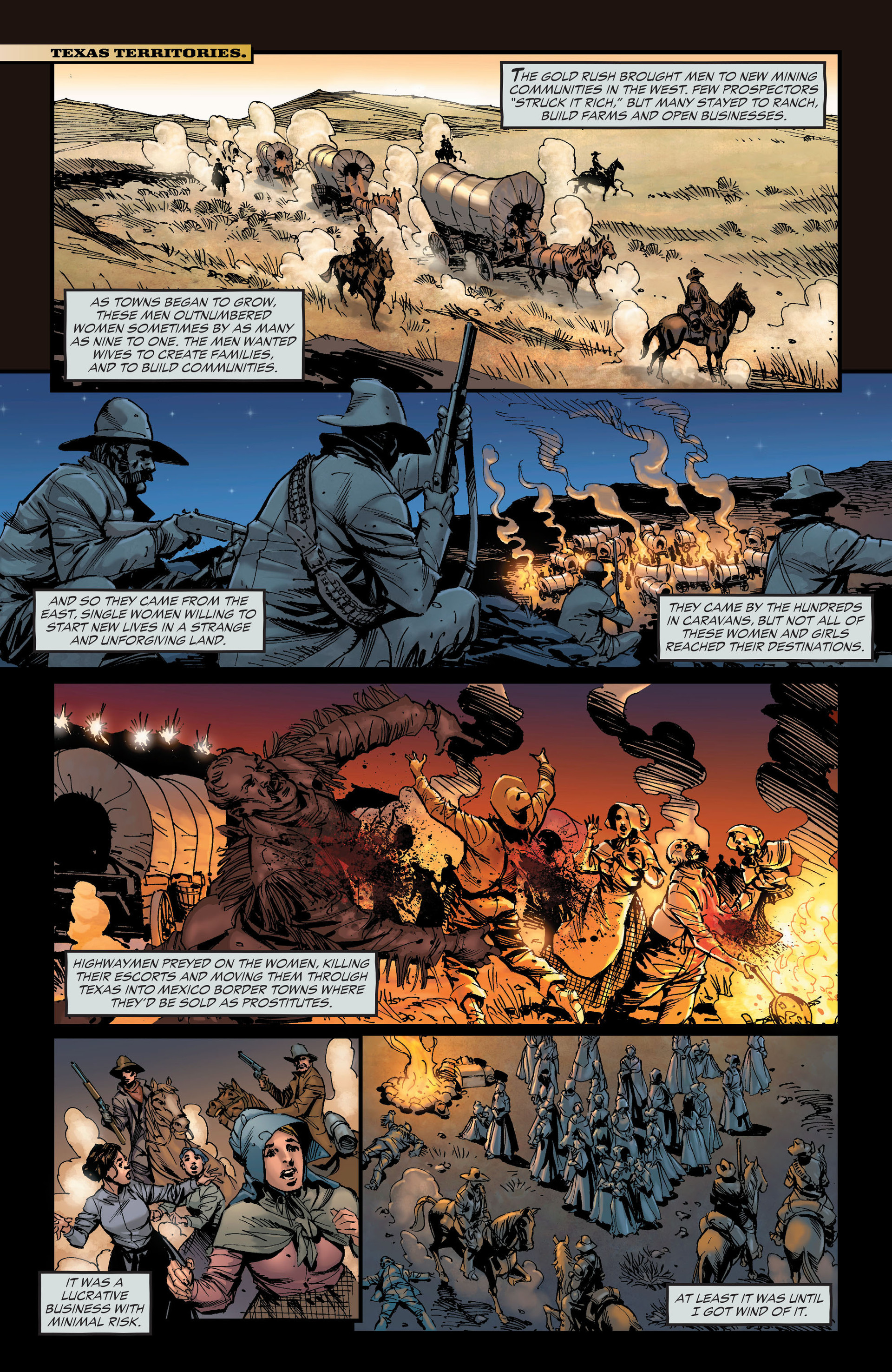 Read online All-Star Western (2011) comic -  Issue #19 - 23