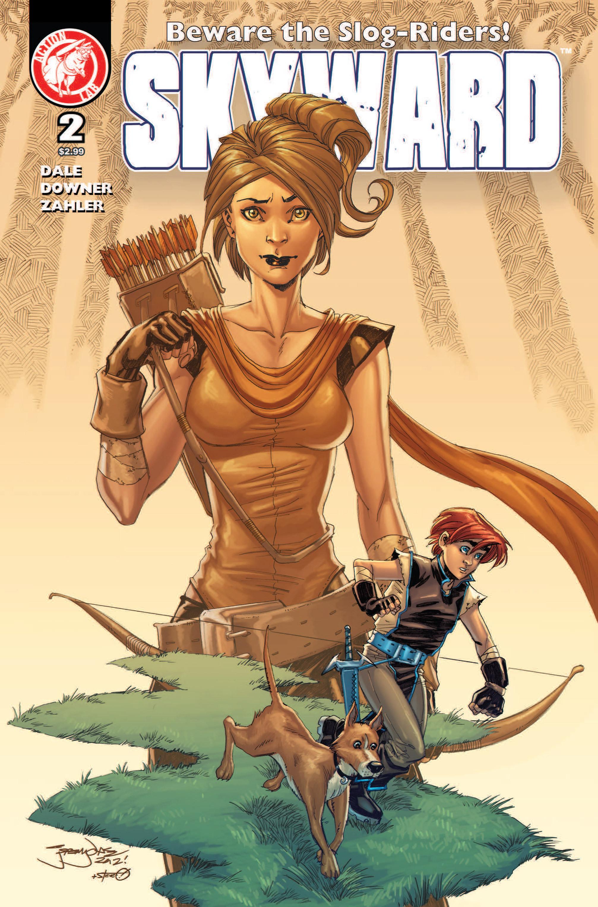 Read online Skyward comic -  Issue #2 - 1