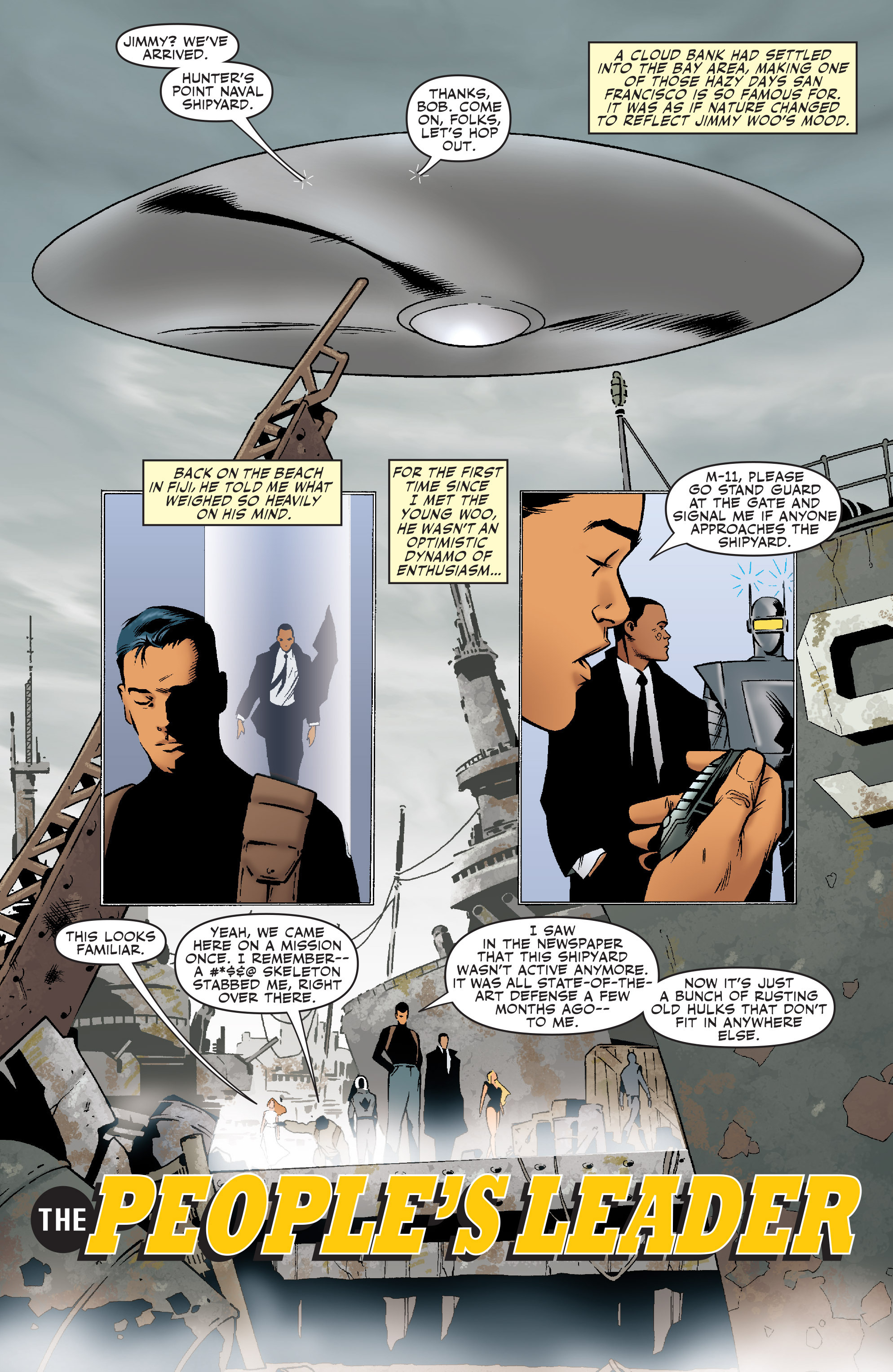 Read online Agents Of Atlas (2006) comic -  Issue #5 - 3