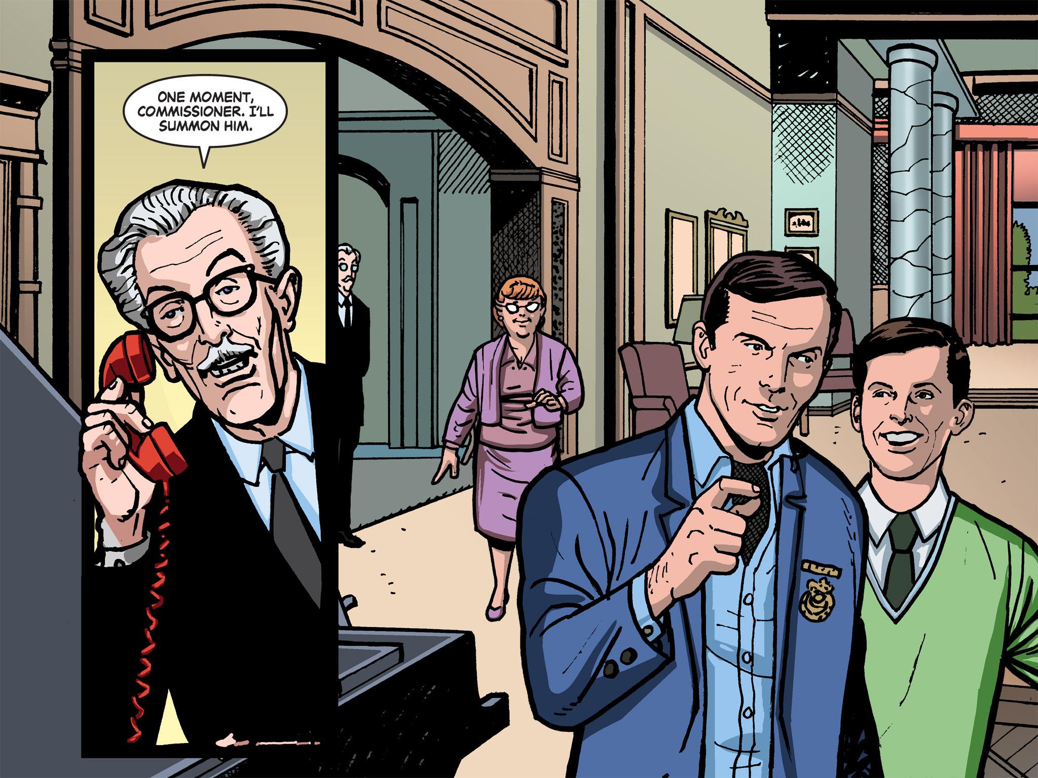 Read online Batman '66 Meets the Green Hornet [II] comic -  Issue #1 - 14