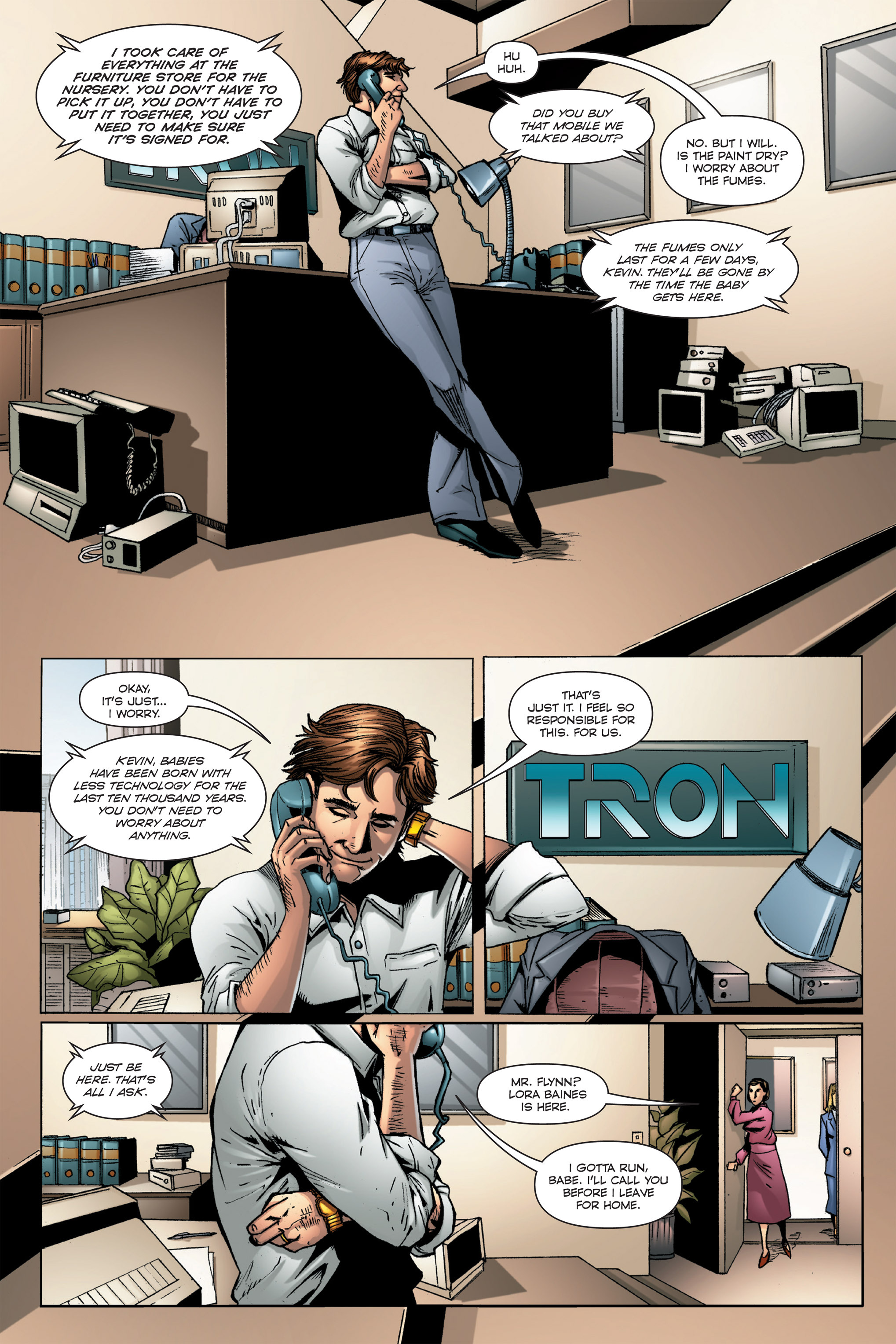 Read online TRON: Betrayal comic -  Issue # TPB - 37