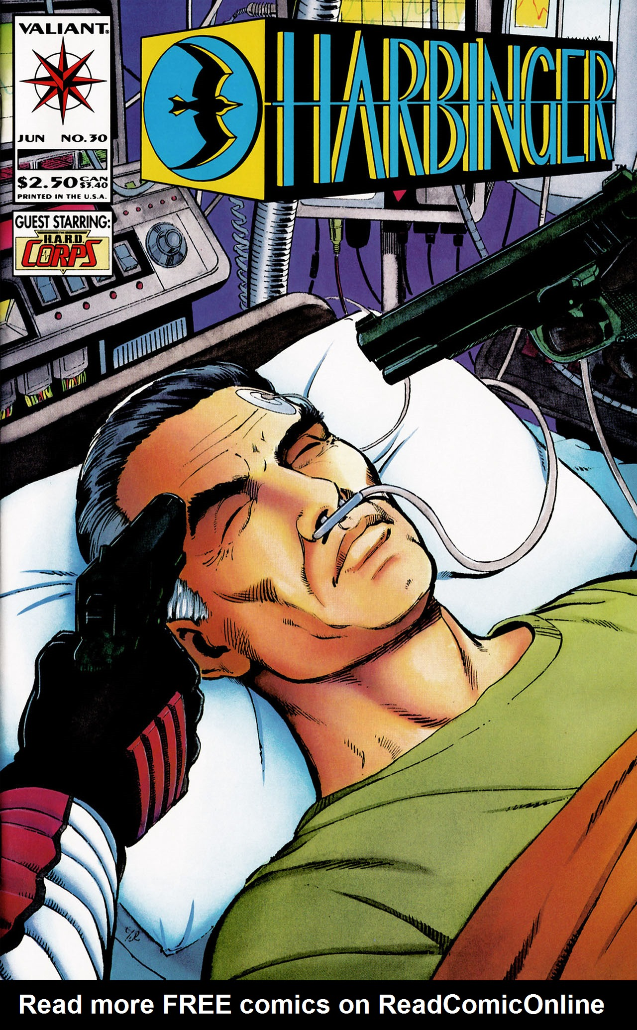 Read online Harbinger (1992) comic -  Issue #30 - 1