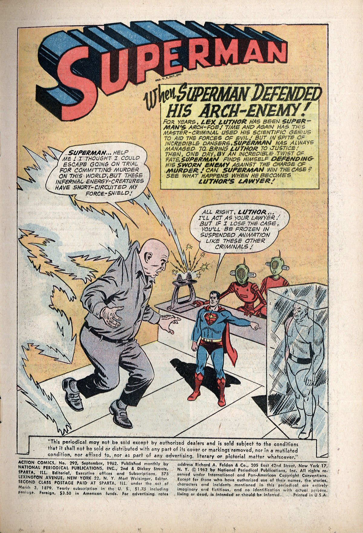 Read online Action Comics (1938) comic -  Issue #292 - 3