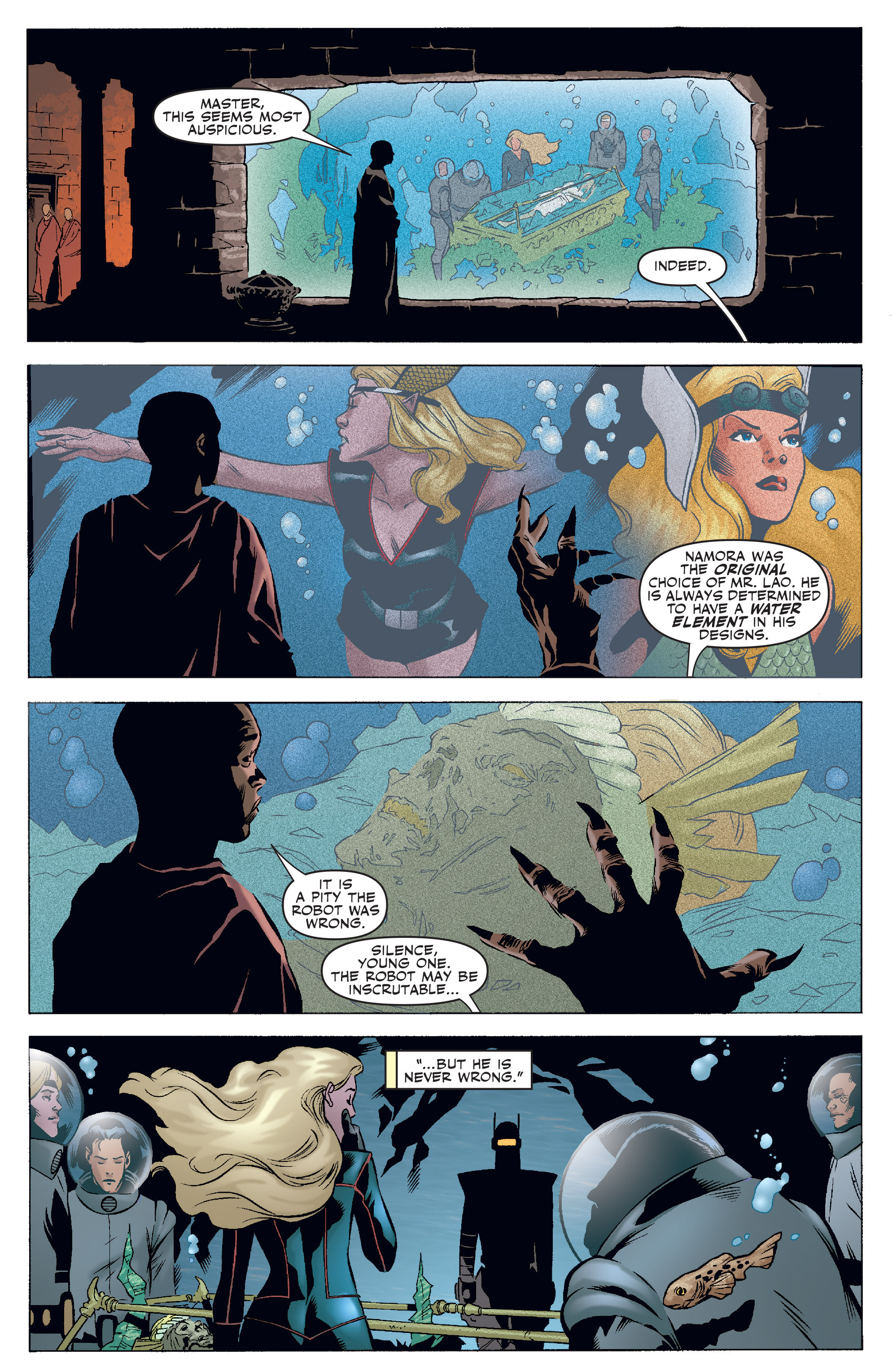 Read online Agents Of Atlas (2006) comic -  Issue #4 - 3