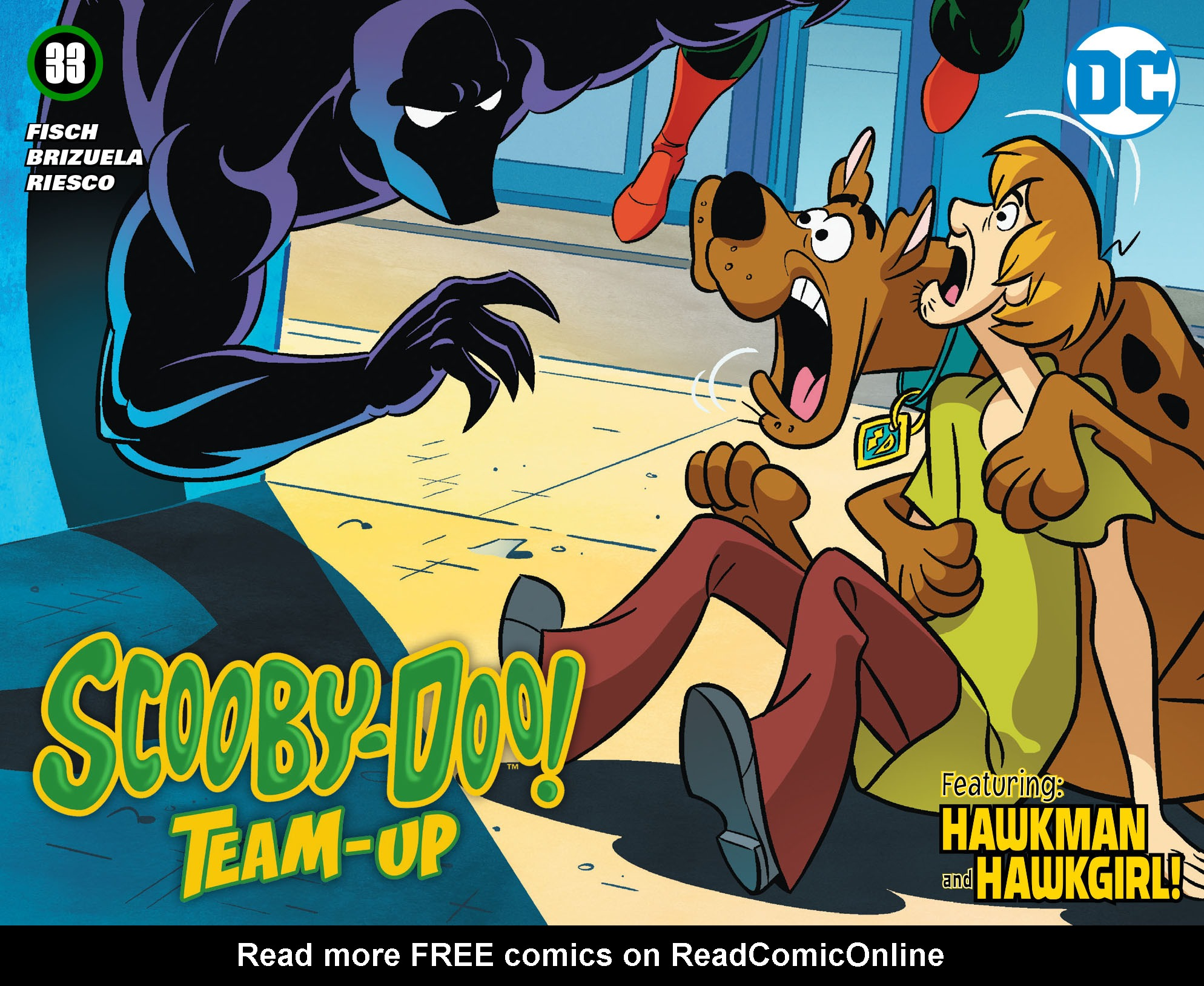 Read online Scooby-Doo! Team-Up comic -  Issue #33 - 1