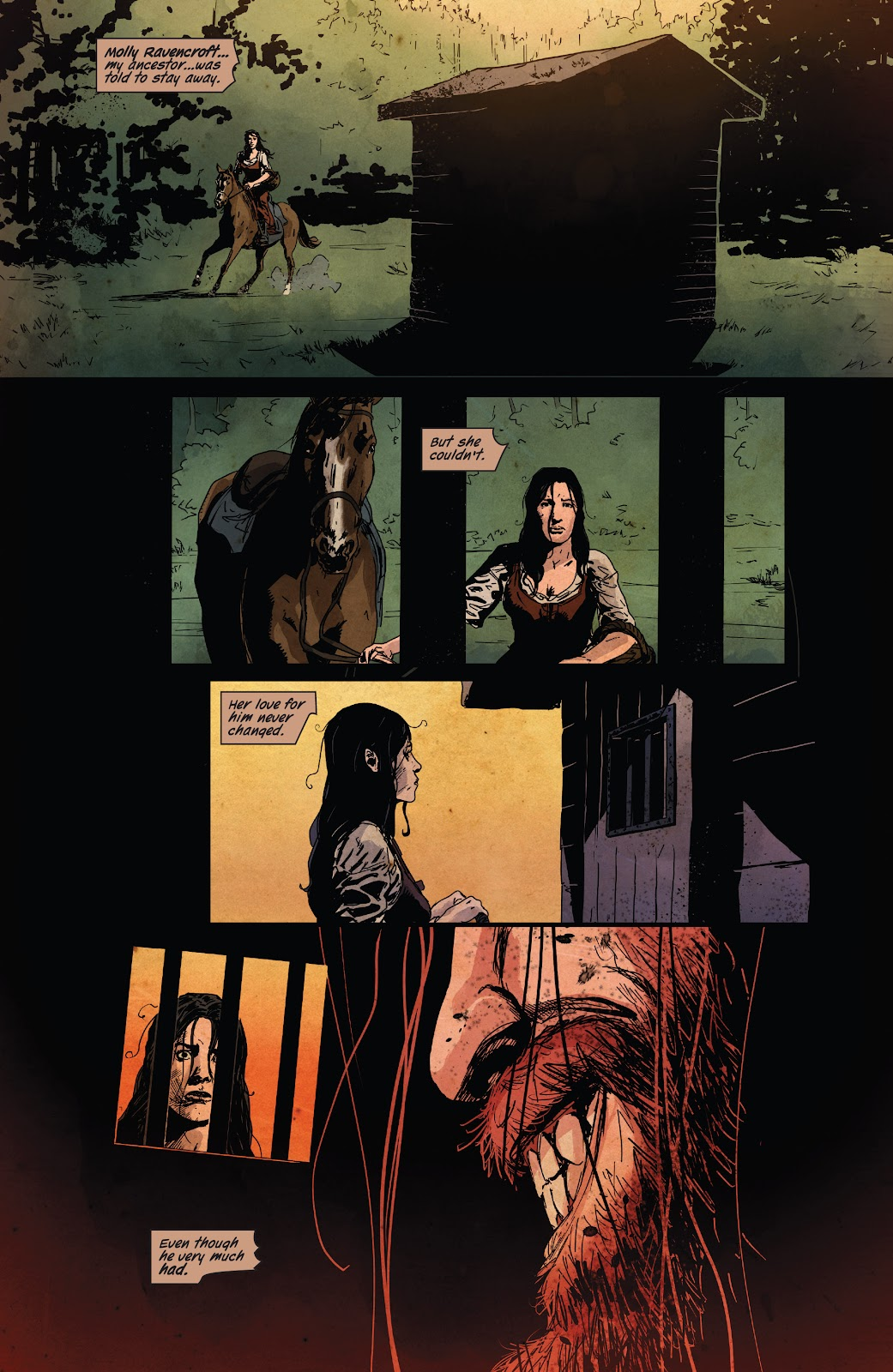 Read online Ruins Of Ravencroft comic -  Issue # Carnage - 25