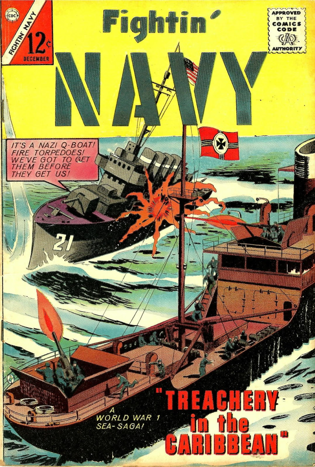 Read online Fightin' Navy comic -  Issue #118 - 1