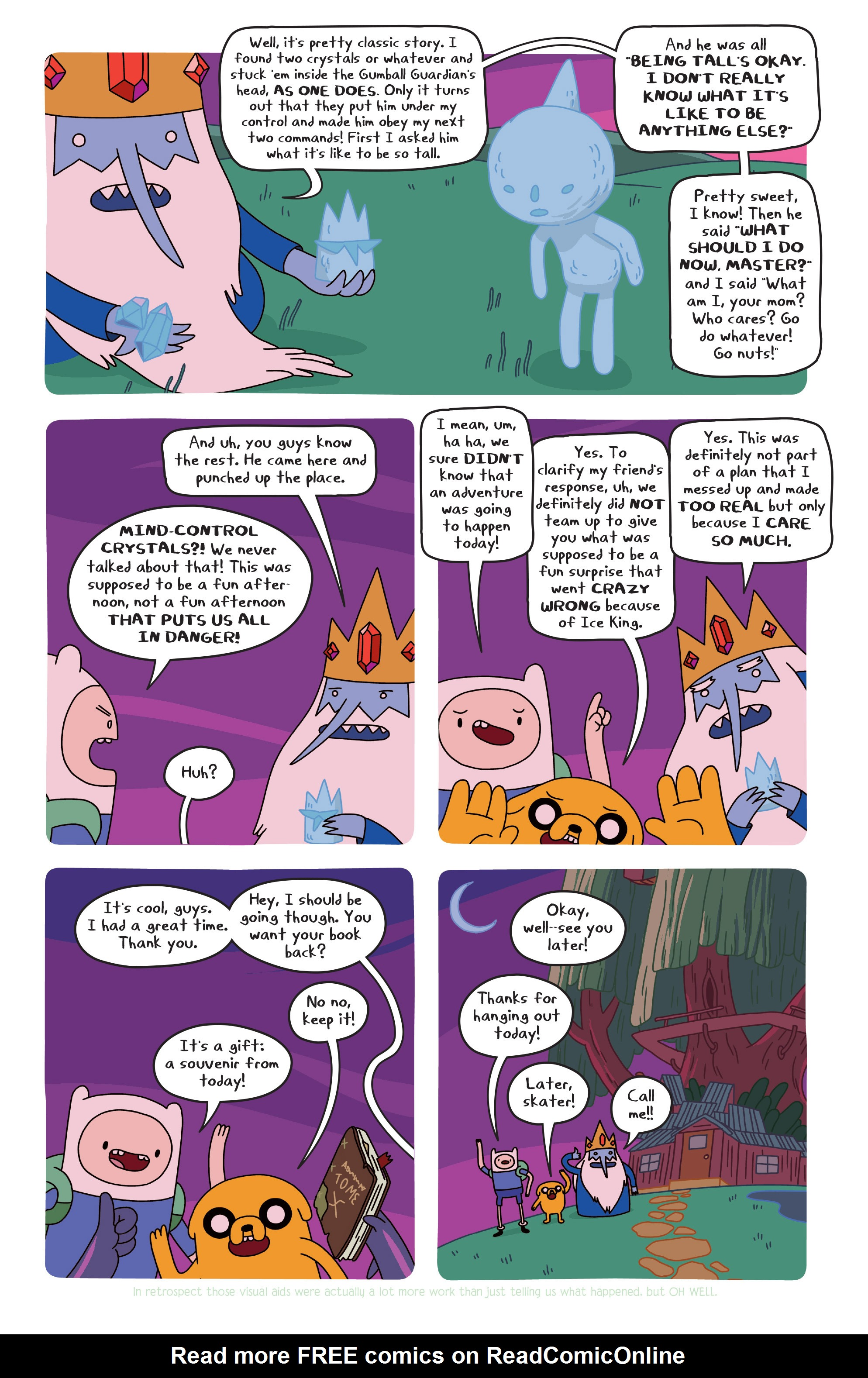 Read online Adventure Time comic -  Issue #20 - 20