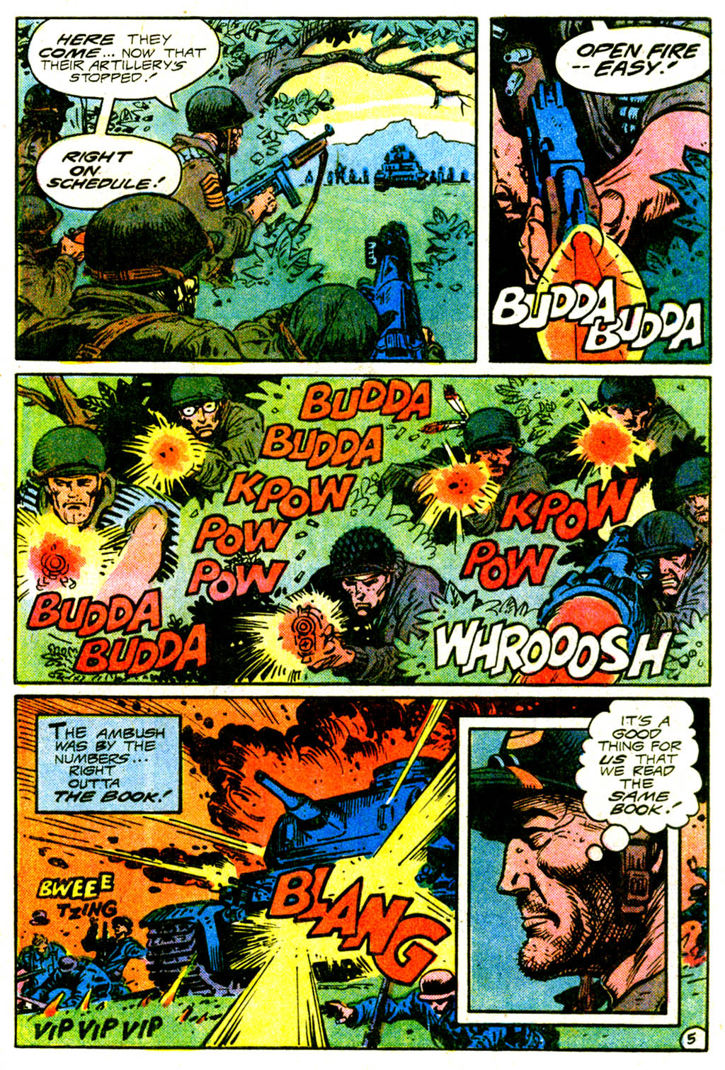 Read online Sgt. Rock comic -  Issue #375 - 8