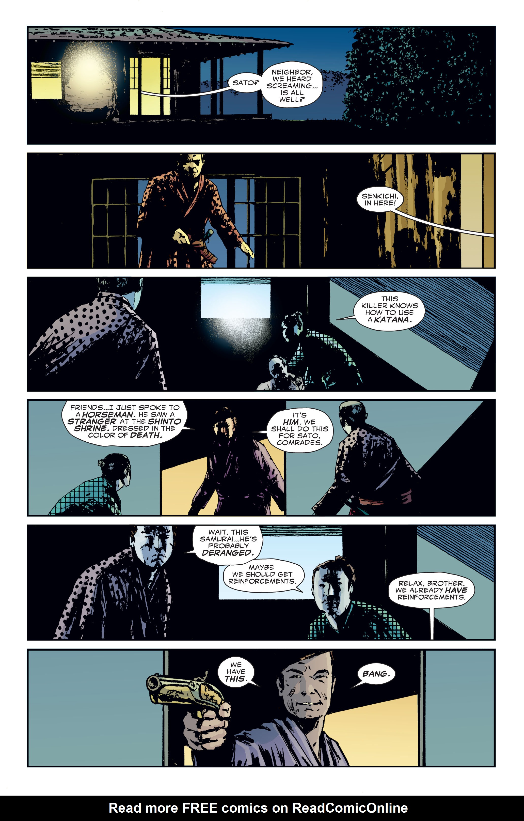 Read online 5 Ronin (2011) comic -  Issue #3 - 20
