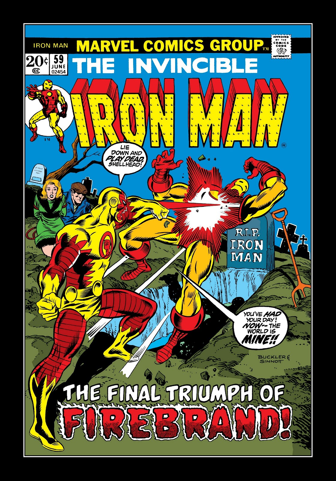 Read online Marvel Masterworks: The Invincible Iron Man comic -  Issue # TPB 9 (Part 2) - 12