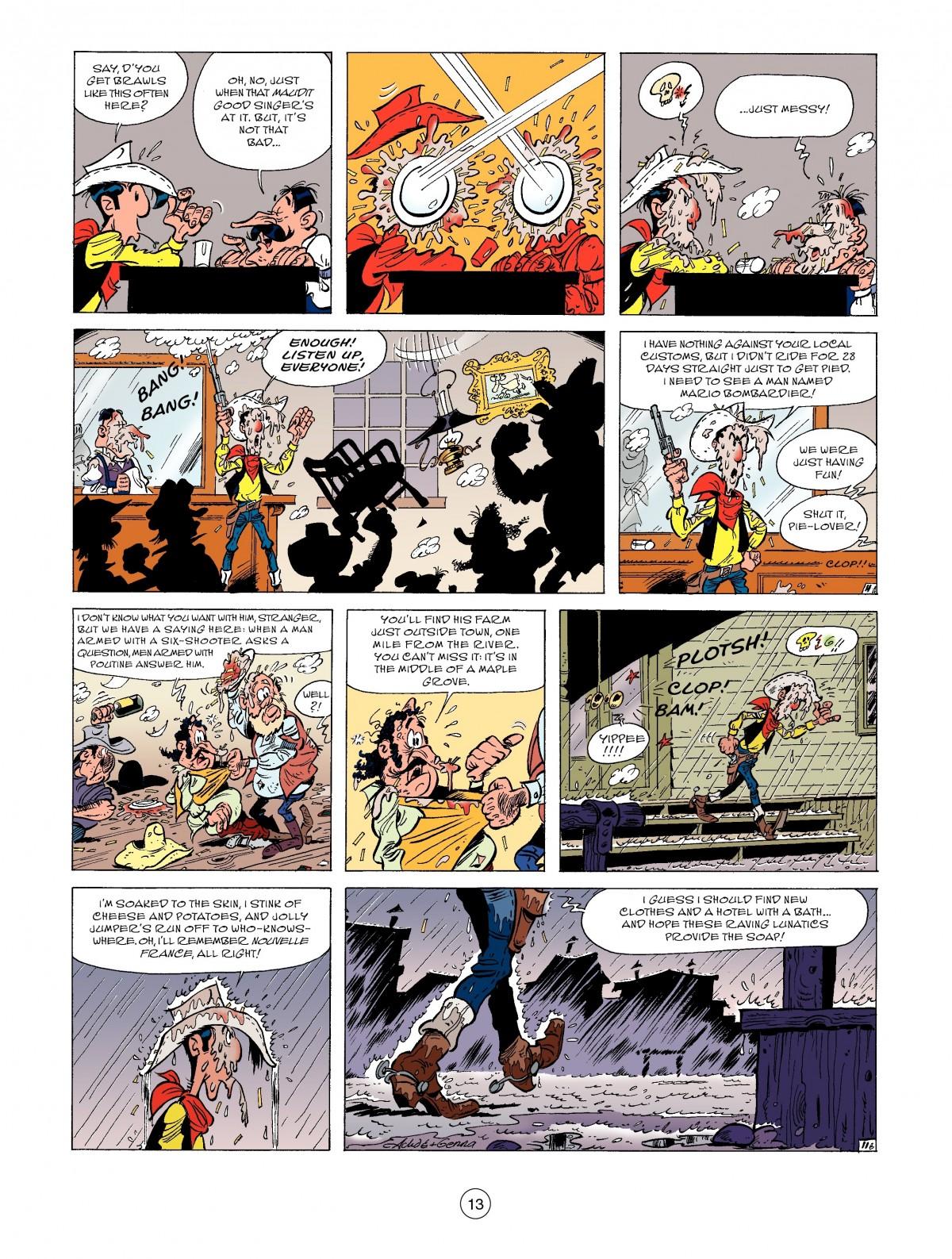 Read online A Lucky Luke Adventure comic -  Issue #52 - 15
