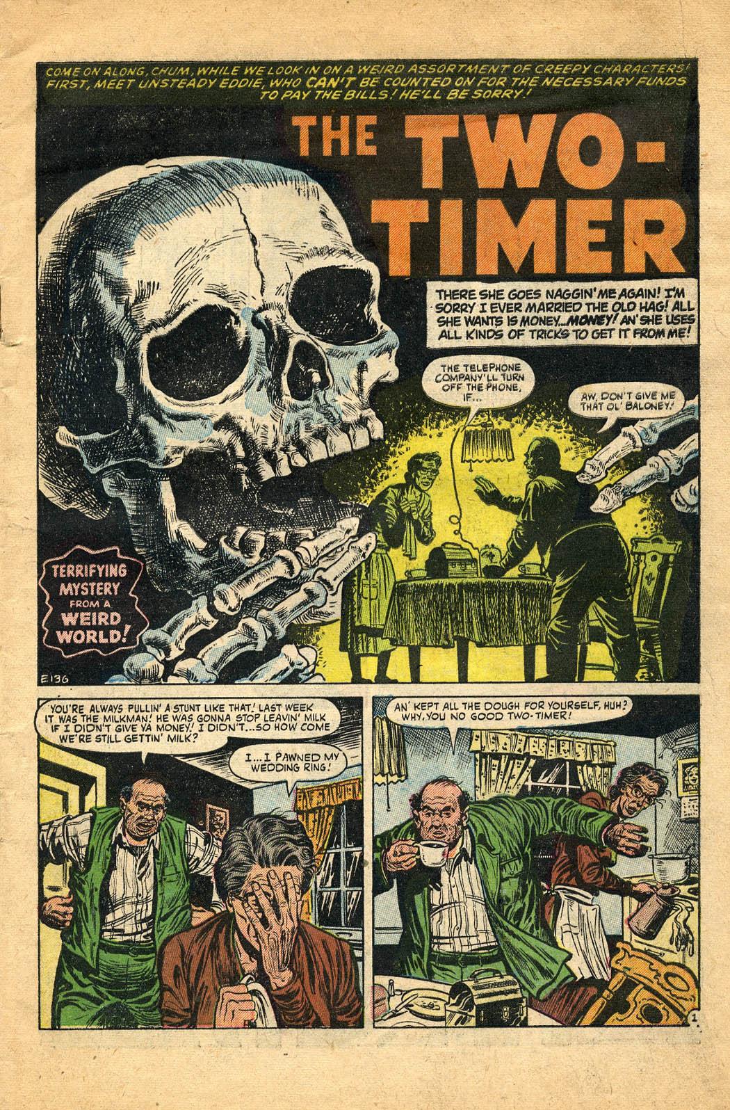 Read online Adventures into Weird Worlds comic -  Issue #29 - 3