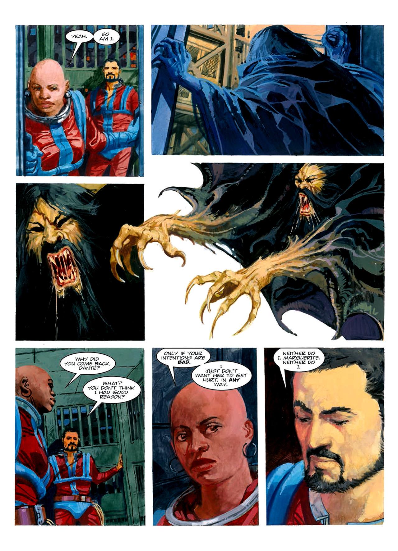 Read online Nikolai Dante comic -  Issue # TPB 6 - 194