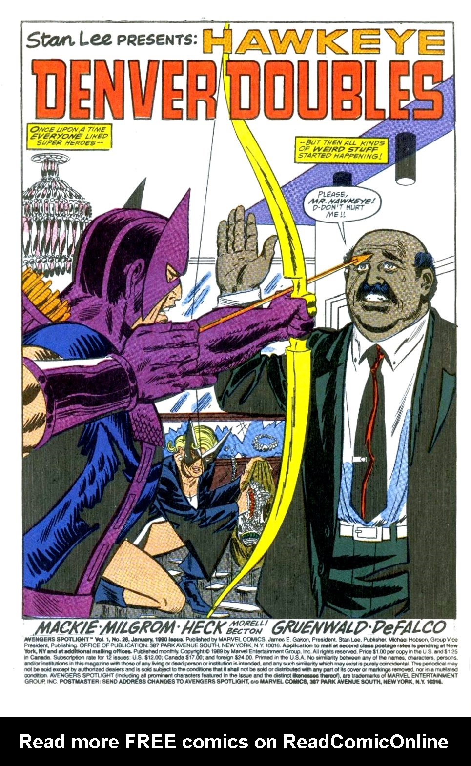 Avengers Spotlight 28 Page 2