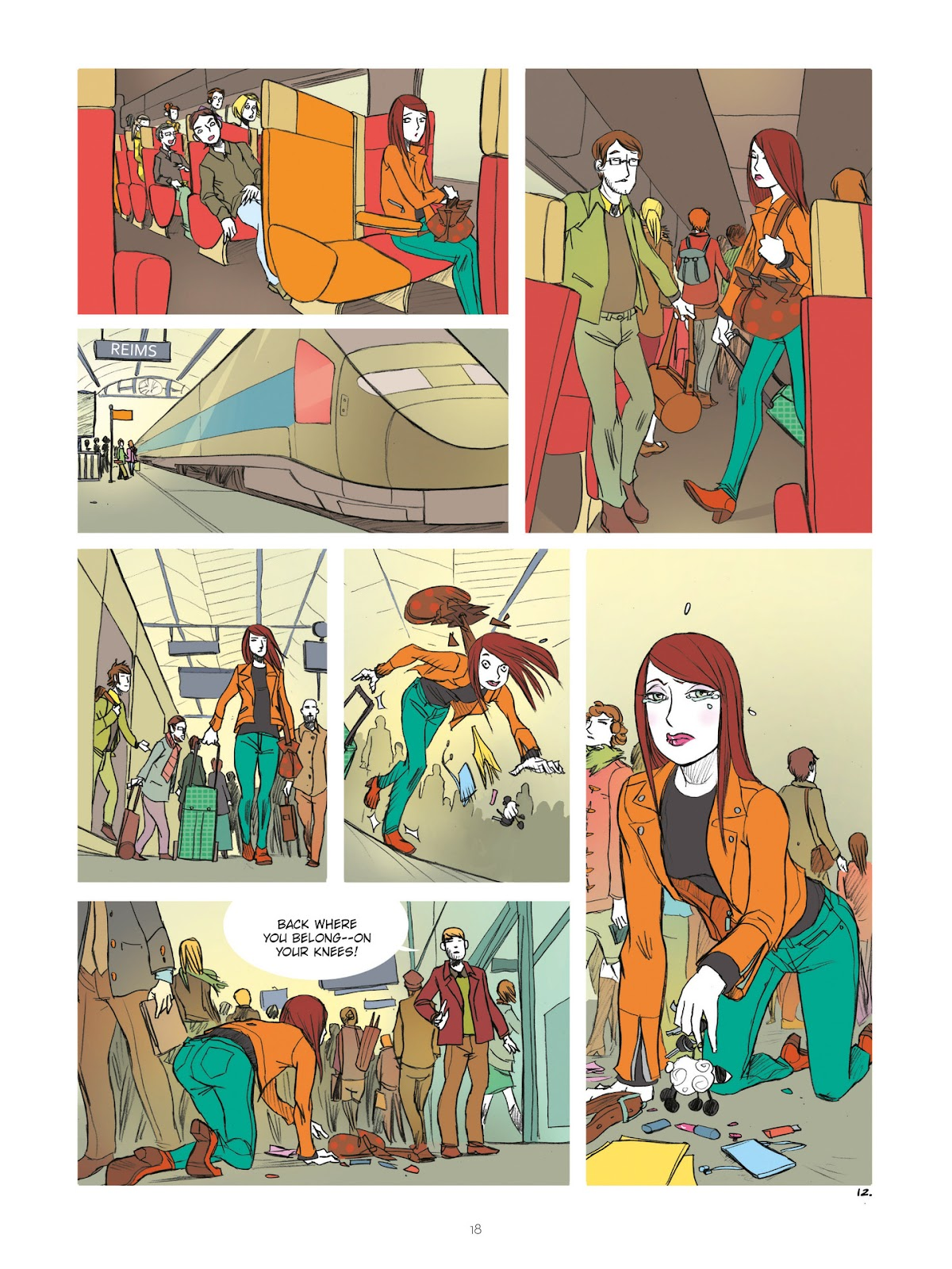 Read online Diary of A Femen comic -  Issue # TPB - 20
