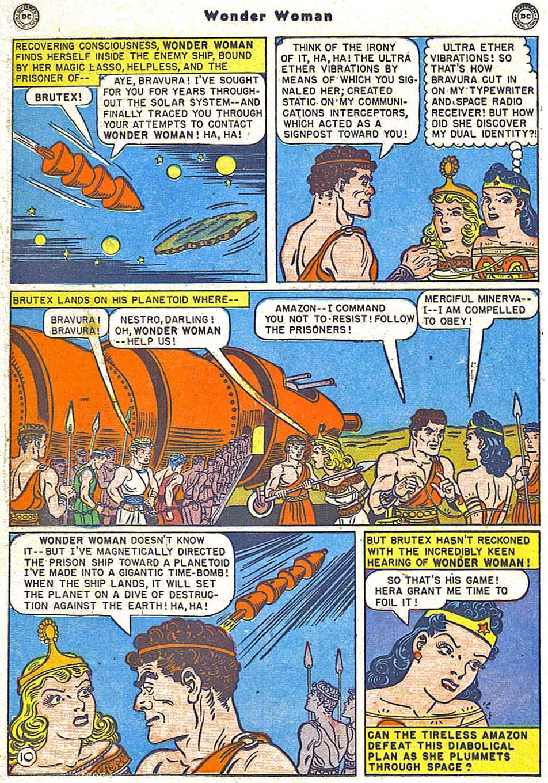 Read online Wonder Woman (1942) comic -  Issue #38 - 26