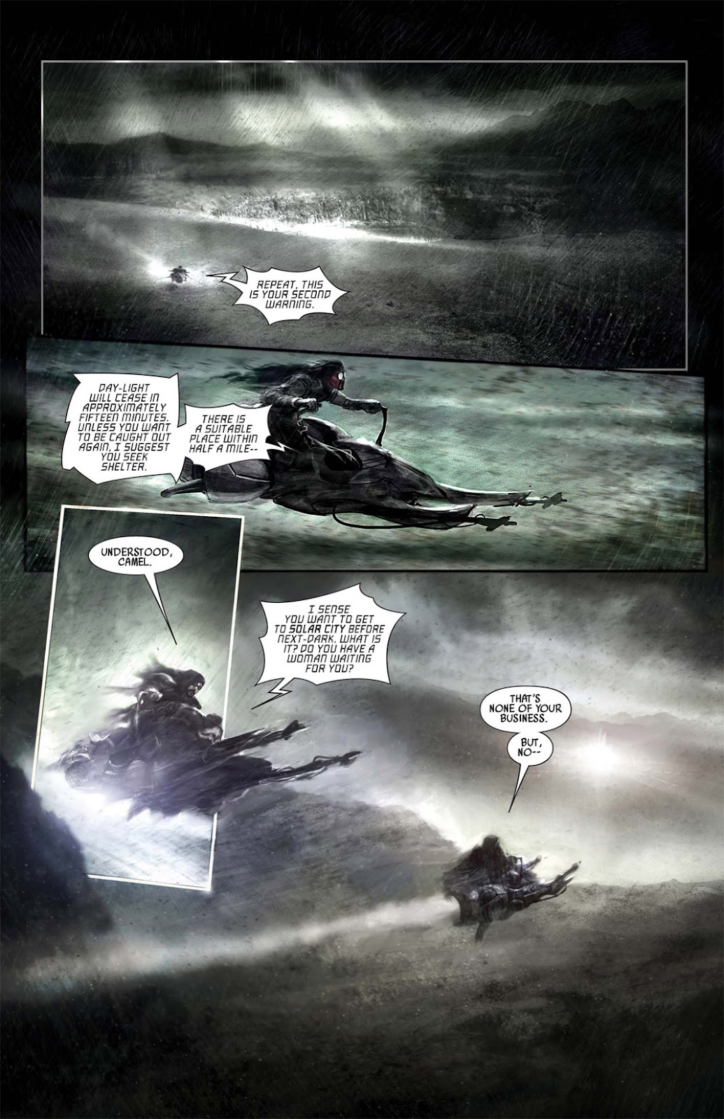 Read online After Dark comic -  Issue #1 - 8