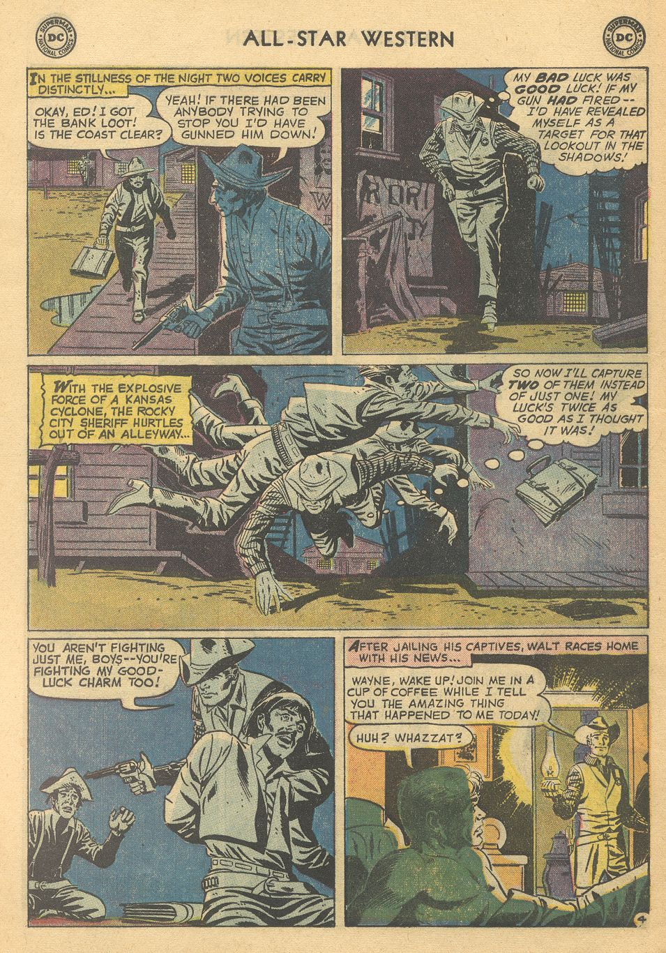 Read online All-Star Western (1951) comic -  Issue #108 - 28