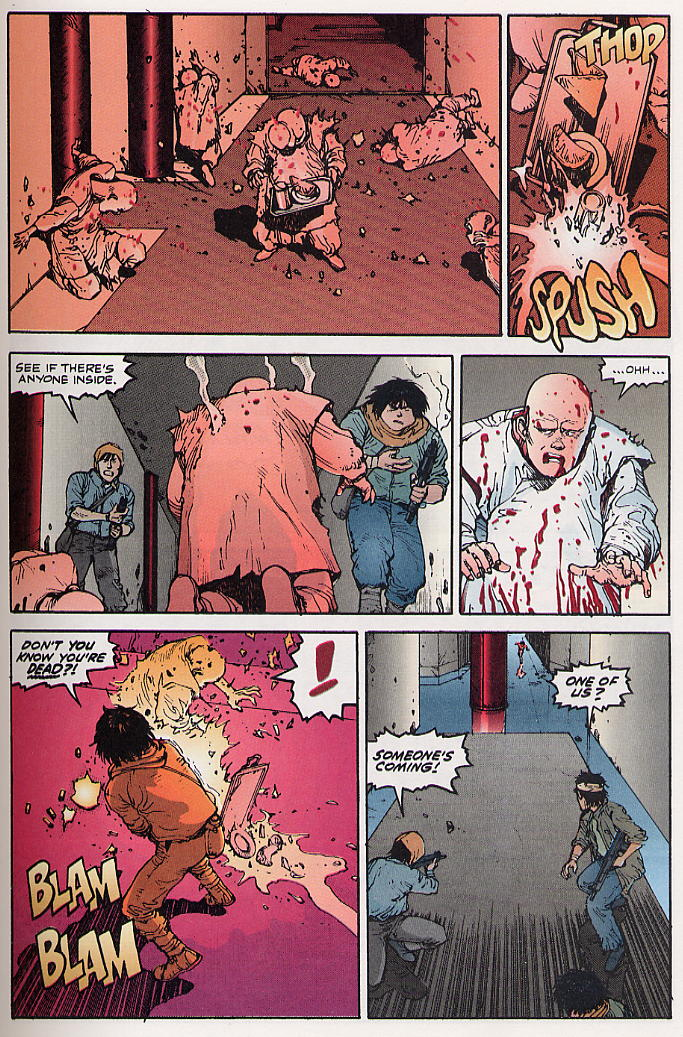 Read online Akira comic -  Issue #22 - 21