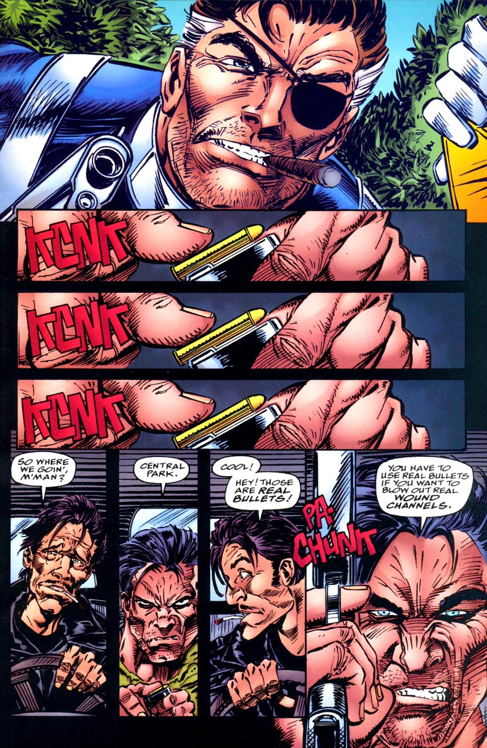 Read online Double Edge comic -  Issue # Issue Alpha - 39