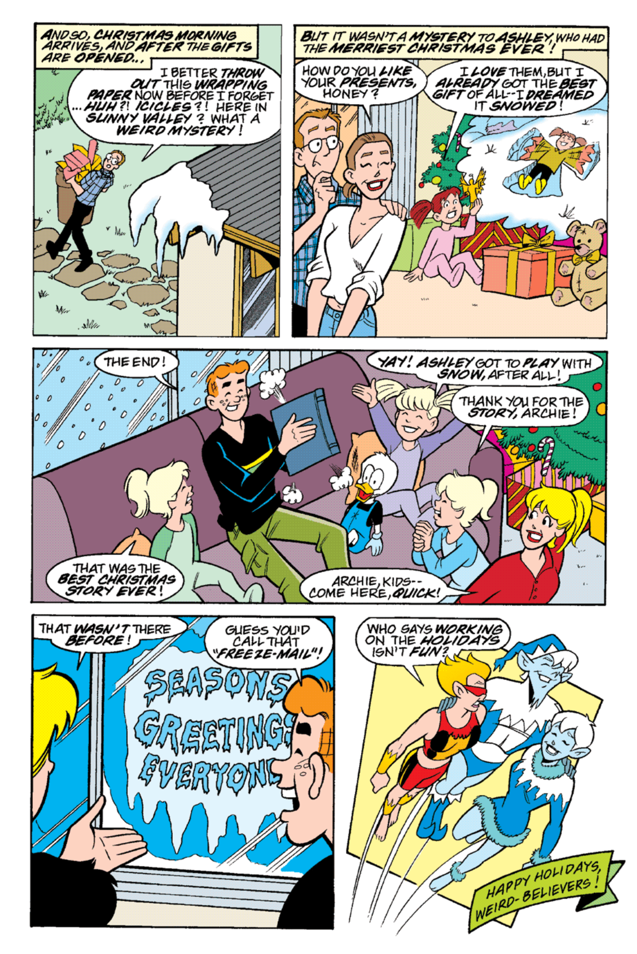 Read online Archie's Weird Mysteries comic -  Issue #18 - 24
