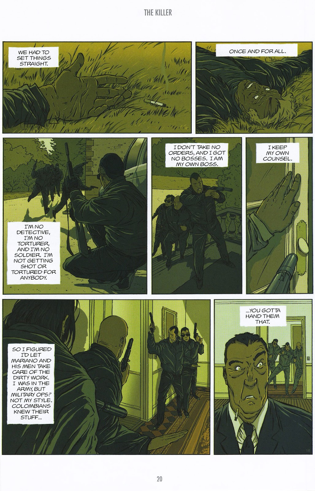 Read online The Killer comic -  Issue #9 - 20