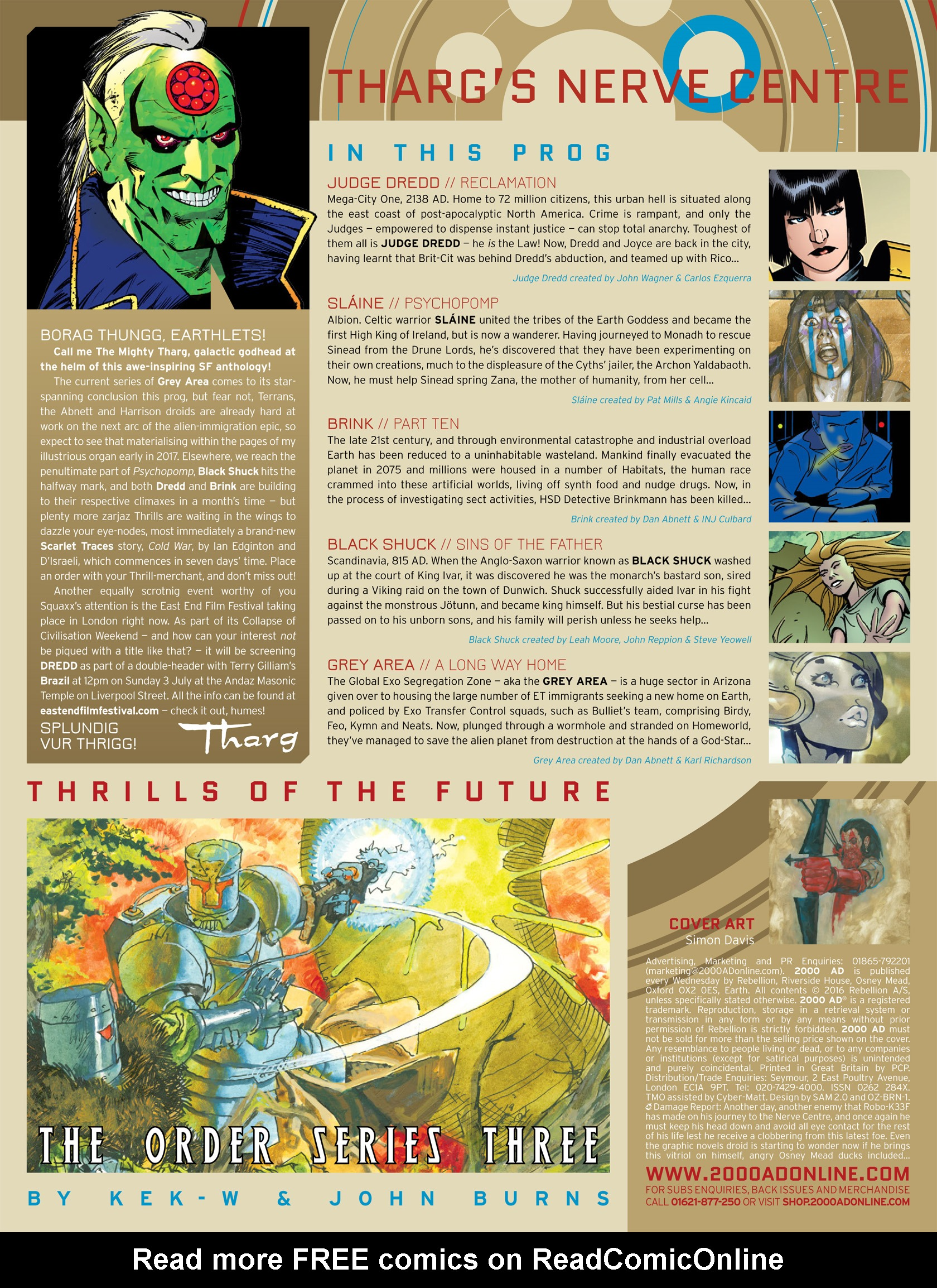 Read online 2000 AD comic -  Issue #1987 - 2