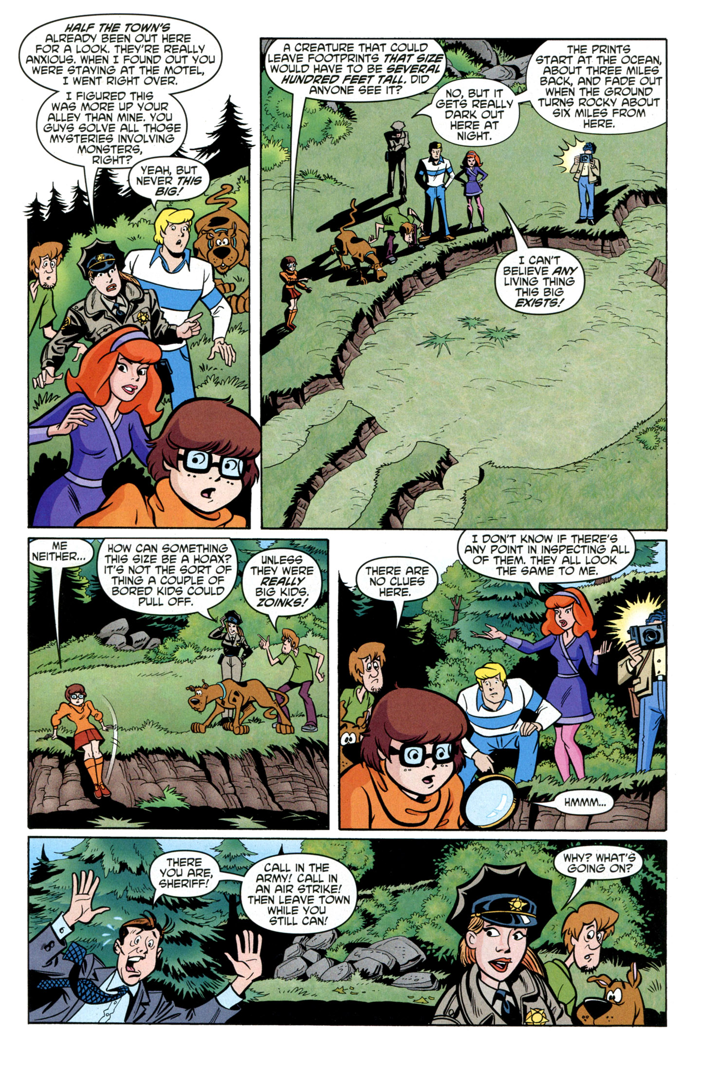 Read online Scooby-Doo: Where Are You? comic -  Issue #25 - 21
