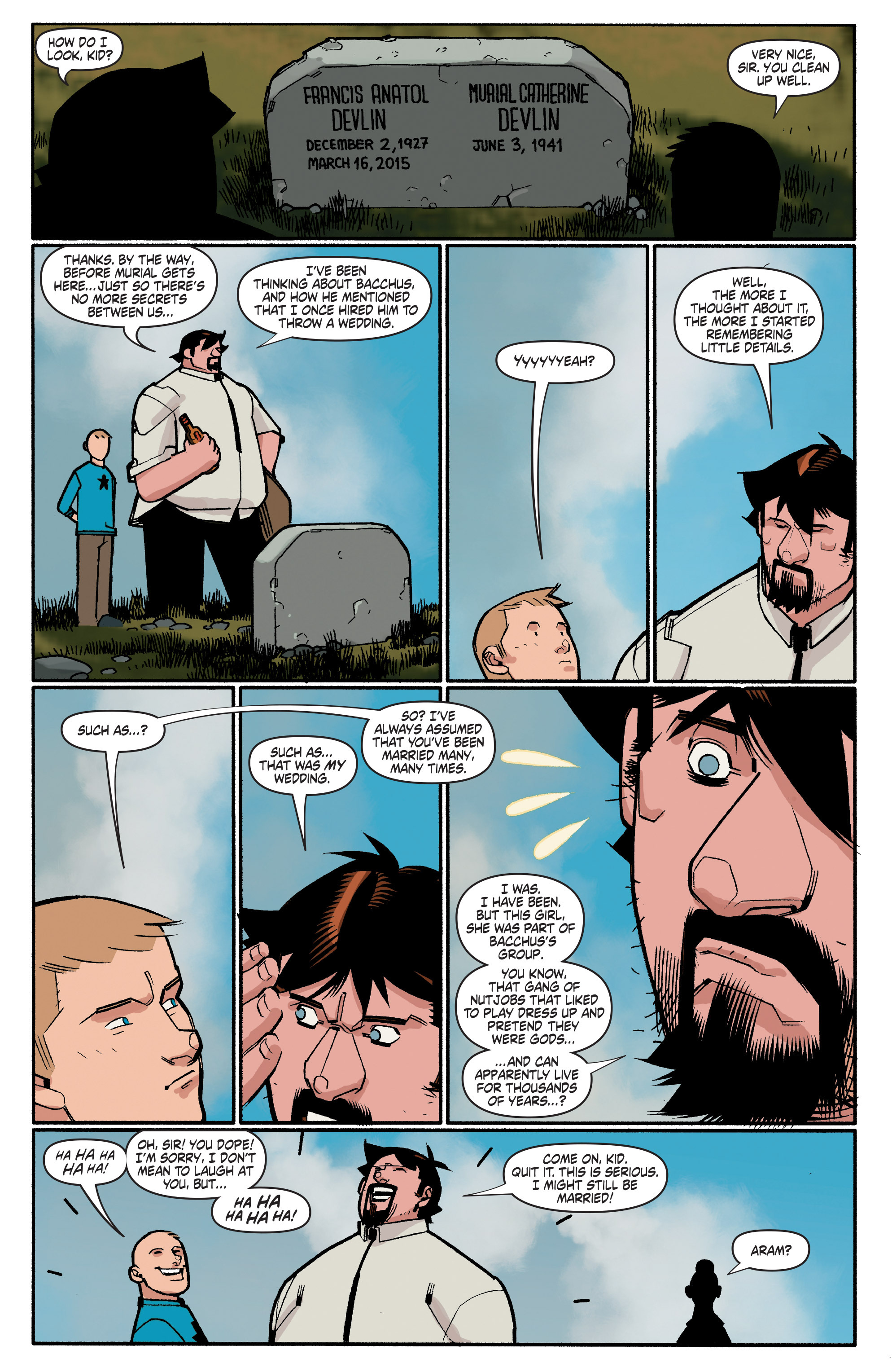 Read online A&A: The Adventures of Archer & Armstrong comic -  Issue #4 - 22