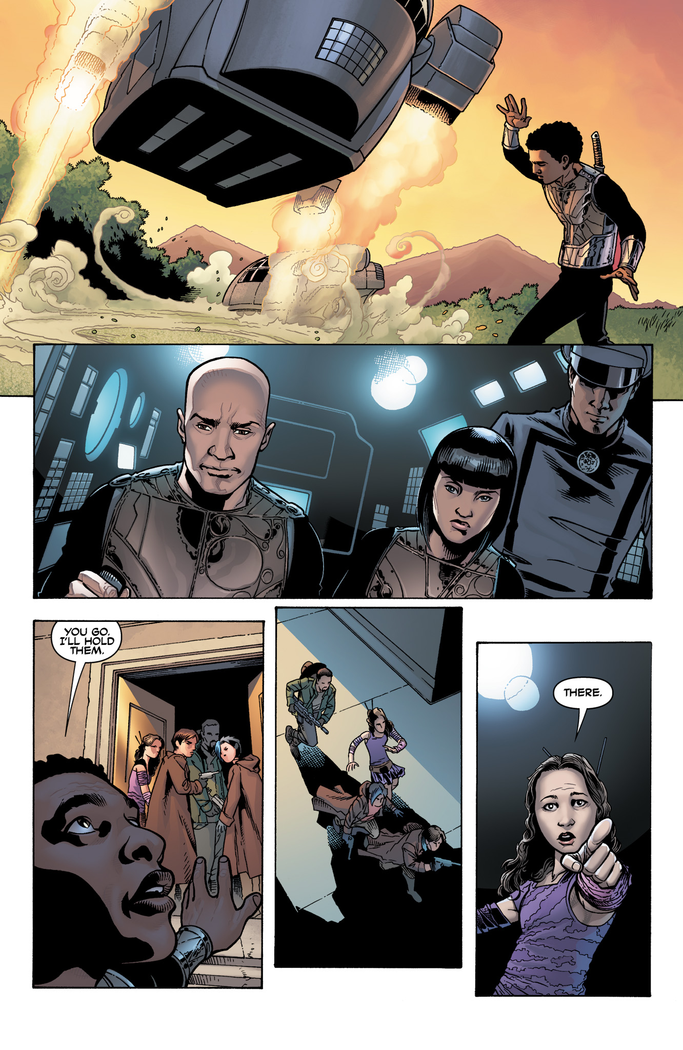 Read online Serenity: Firefly Class 03-K64  Leaves on the Wind comic -  Issue #4 - 18