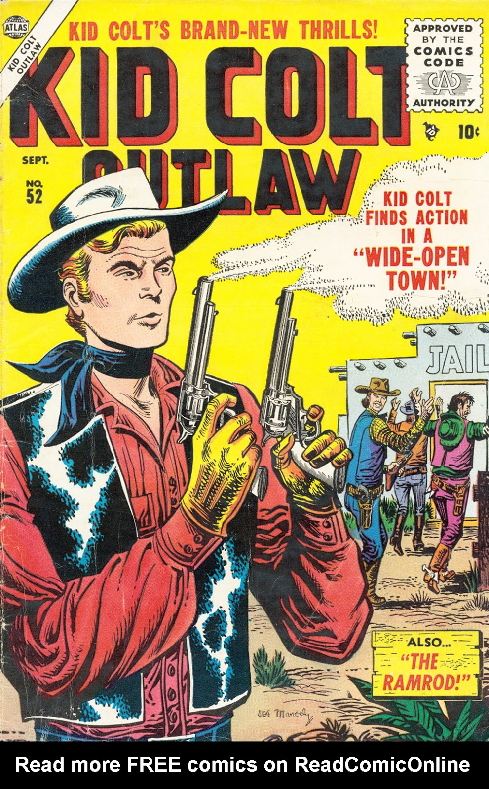 Kid Colt Outlaw issue 52 - Page 1