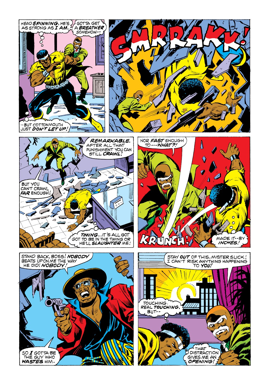 Read online Marvel Masterworks: Luke Cage, Power Man comic -  Issue # TPB 2 (Part 1) - 83