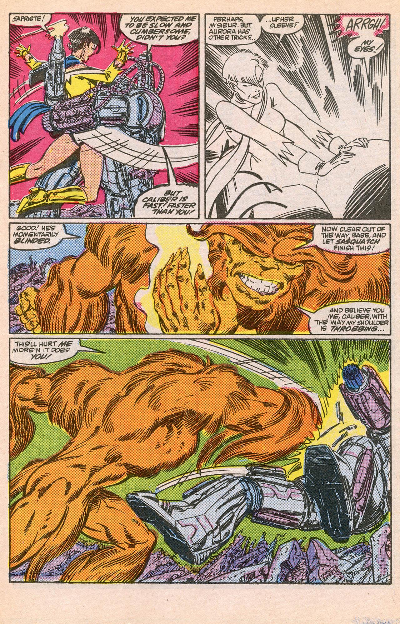 Read online Alpha Flight (1983) comic -  Issue #23 - 17