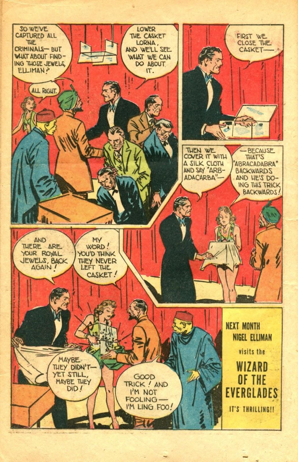Read online Super-Magician Comics comic -  Issue #48 - 16
