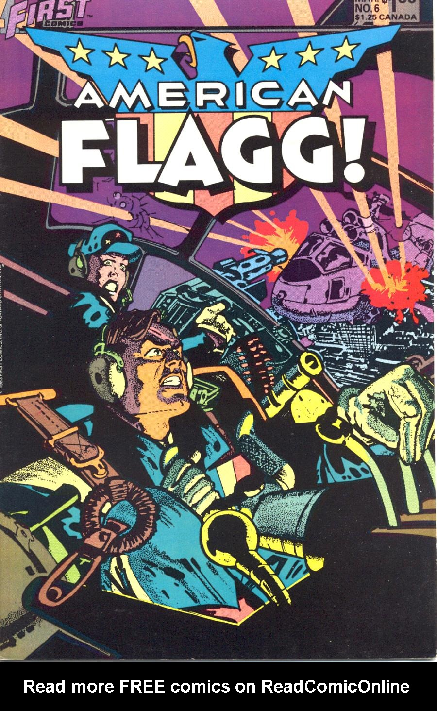 American Flagg! issue 6 - Page 1