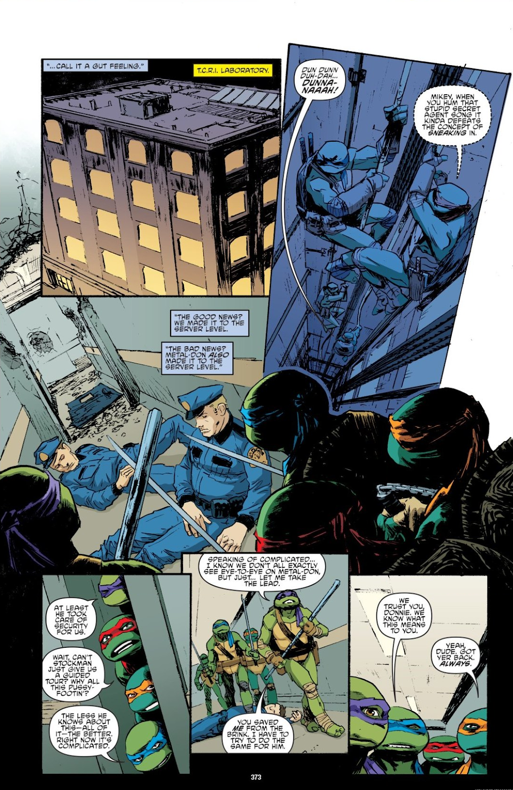 Read online Teenage Mutant Ninja Turtles: The IDW Collection comic -  Issue # TPB 8 (Part 4) - 71